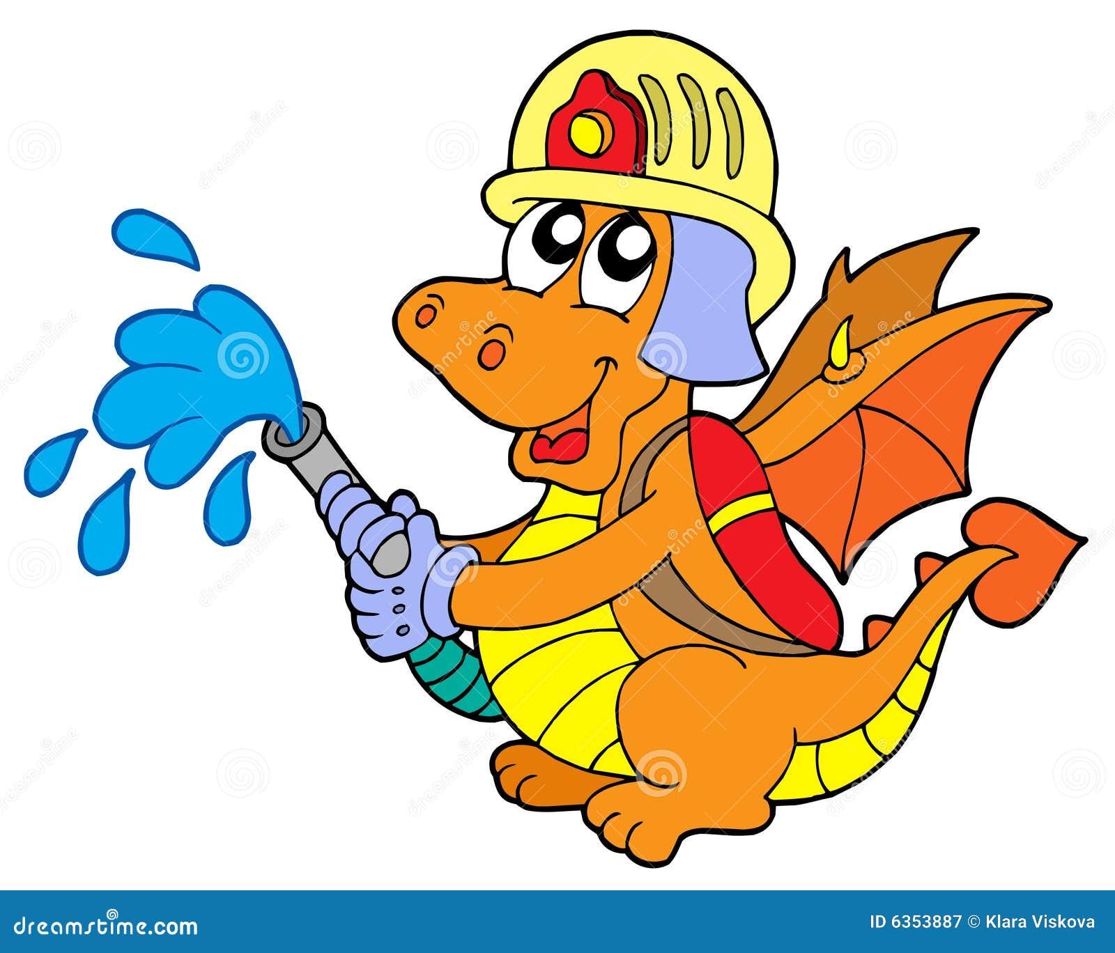 Fireman dragon
