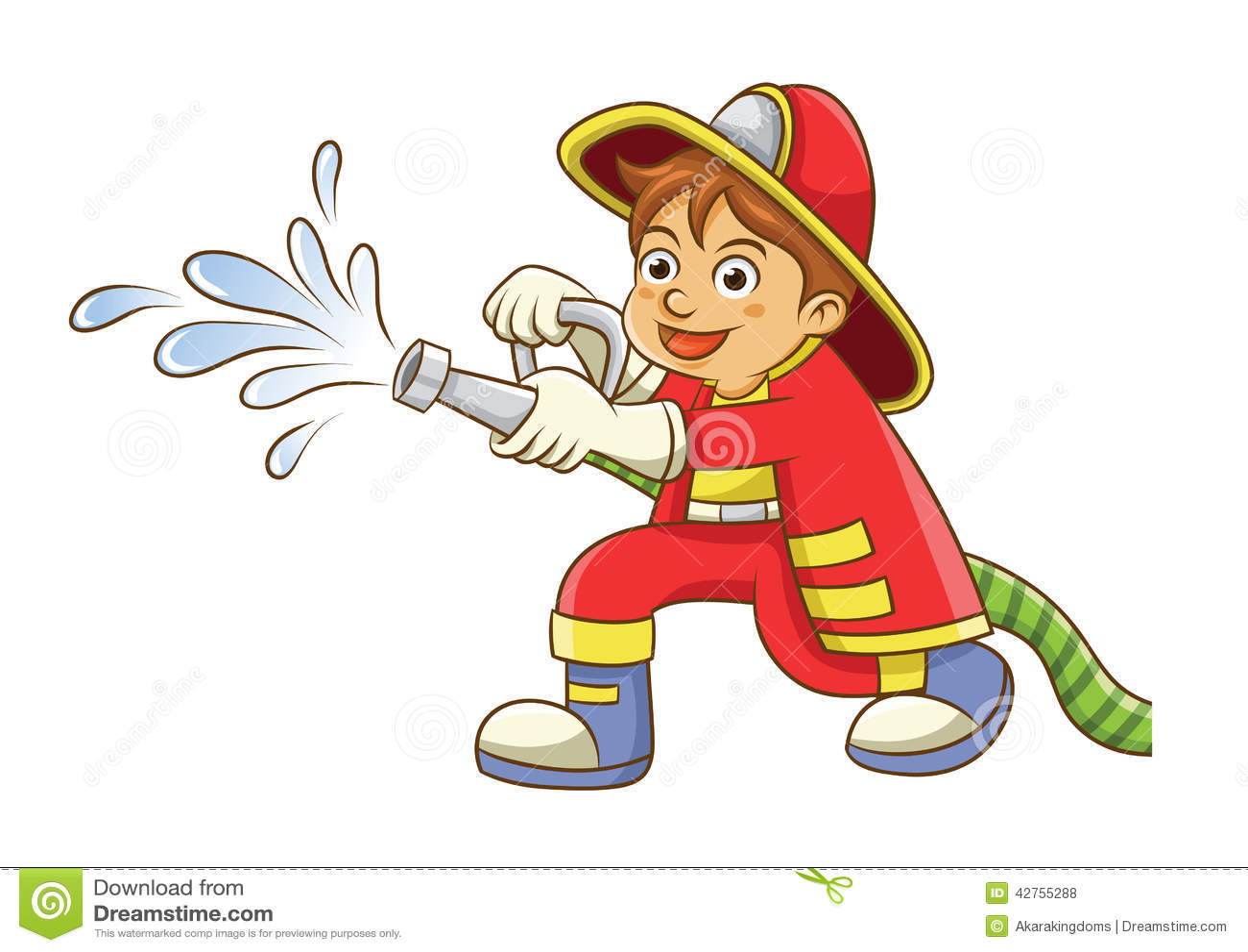 Fireman Stock Illustrations – 5,110 Fireman Stock Illustrations ...