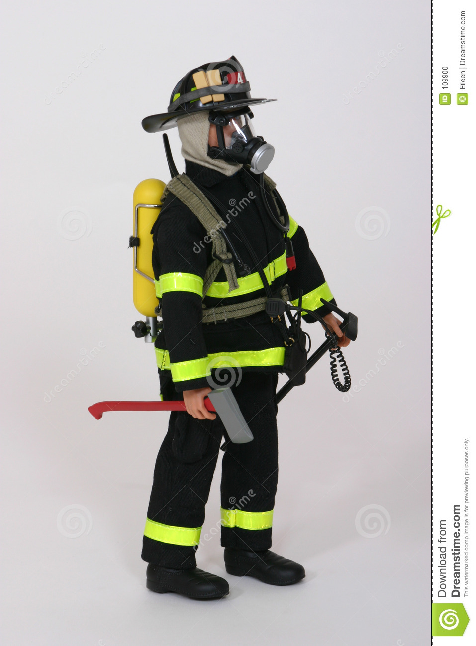 Download Fireman2 stock photo. Image of fireman, emergency, mask - 109900