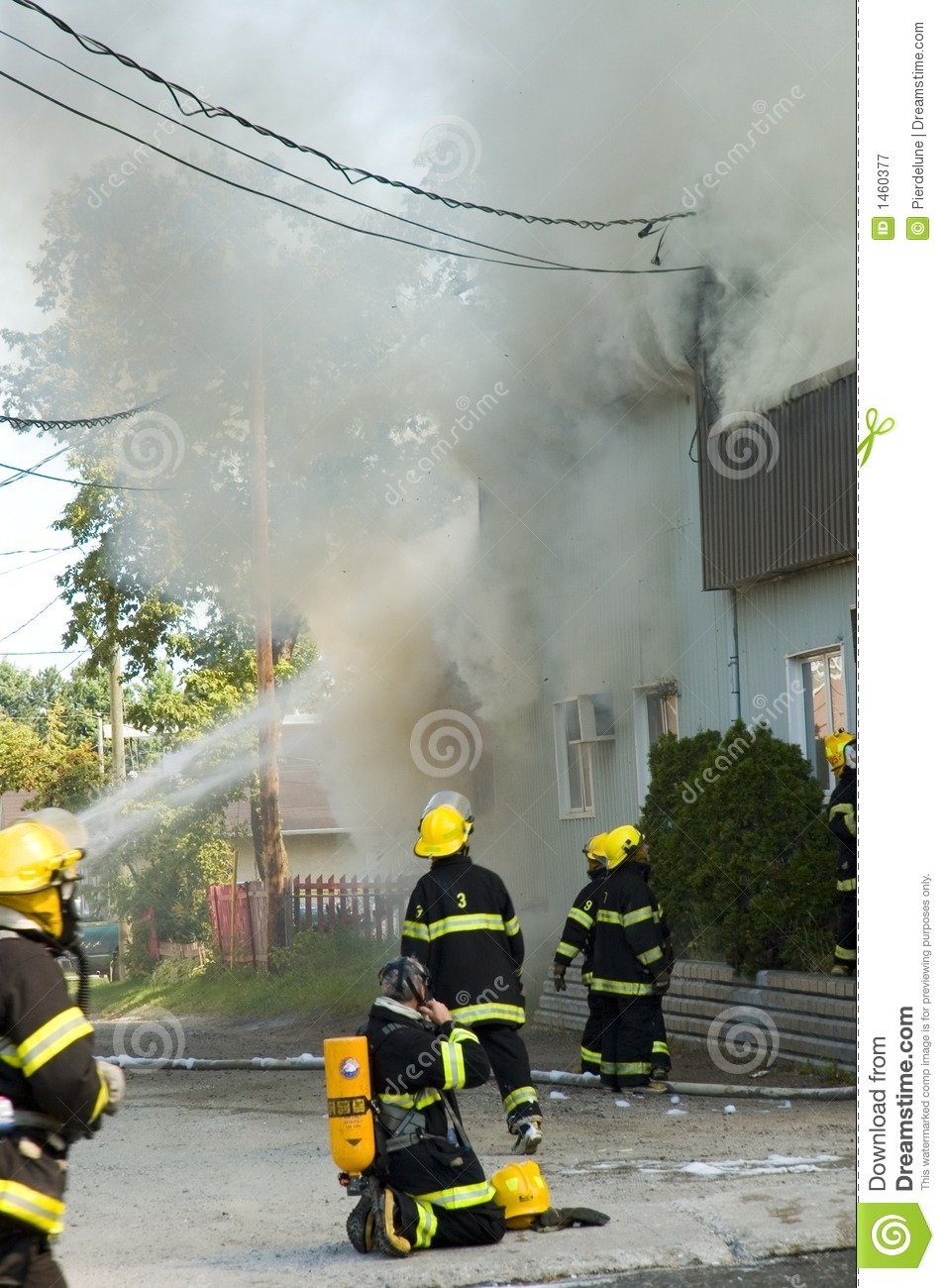 Firemen on the move