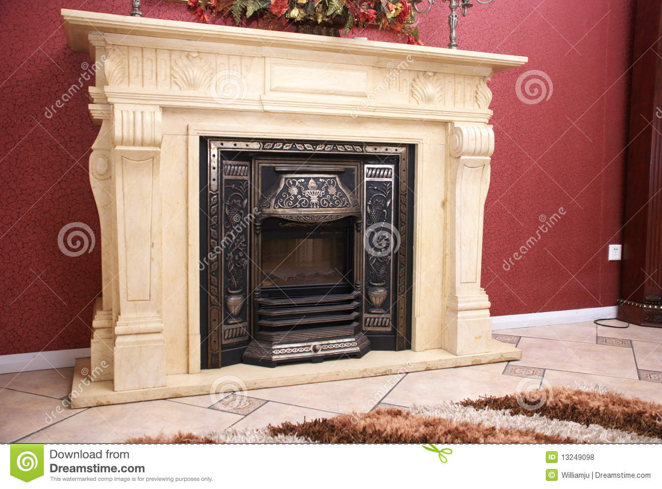 fireplace royalty free stock photos image 13249098