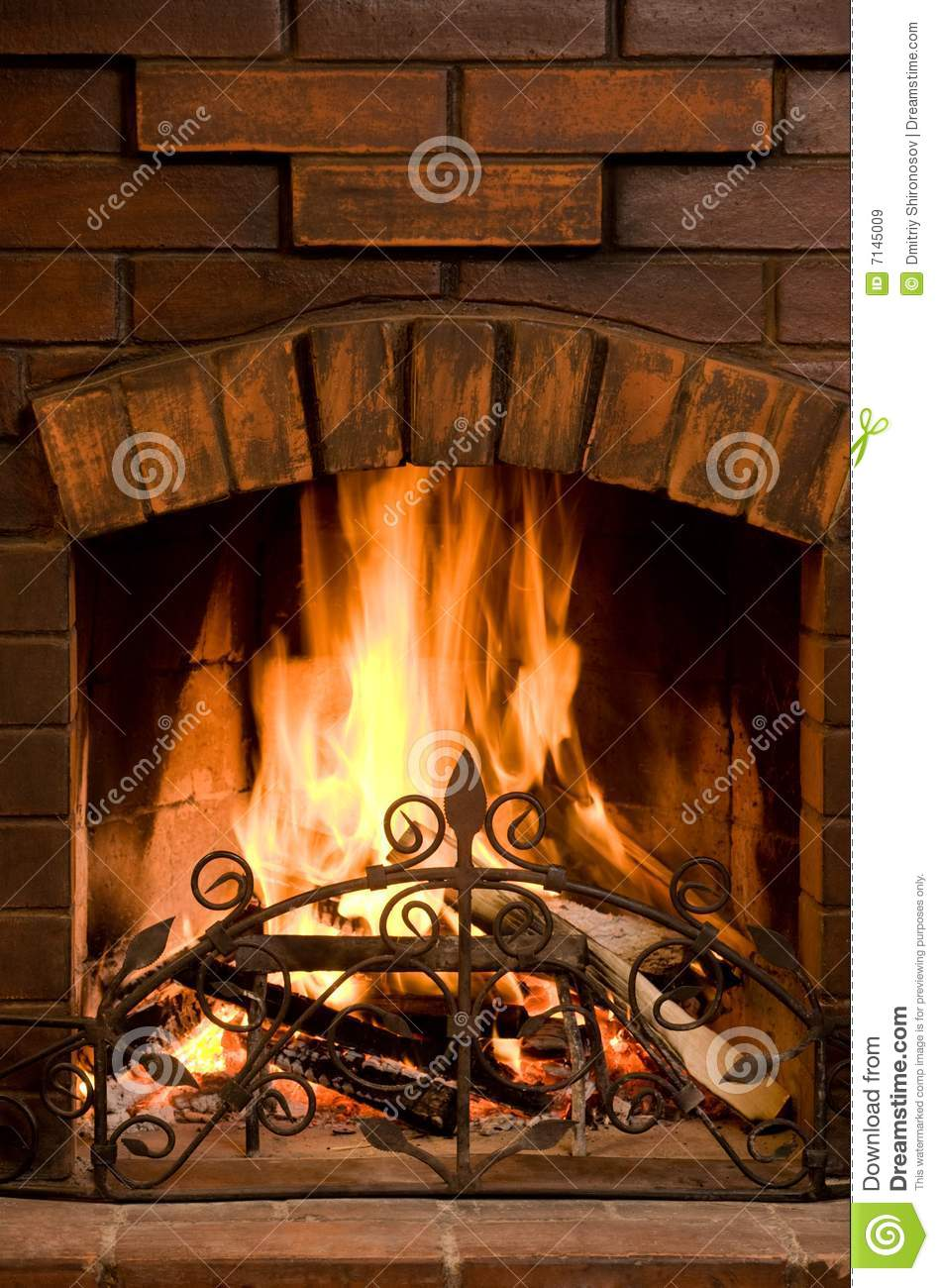 Fireplace Royalty Free Stock Images Image 7145009