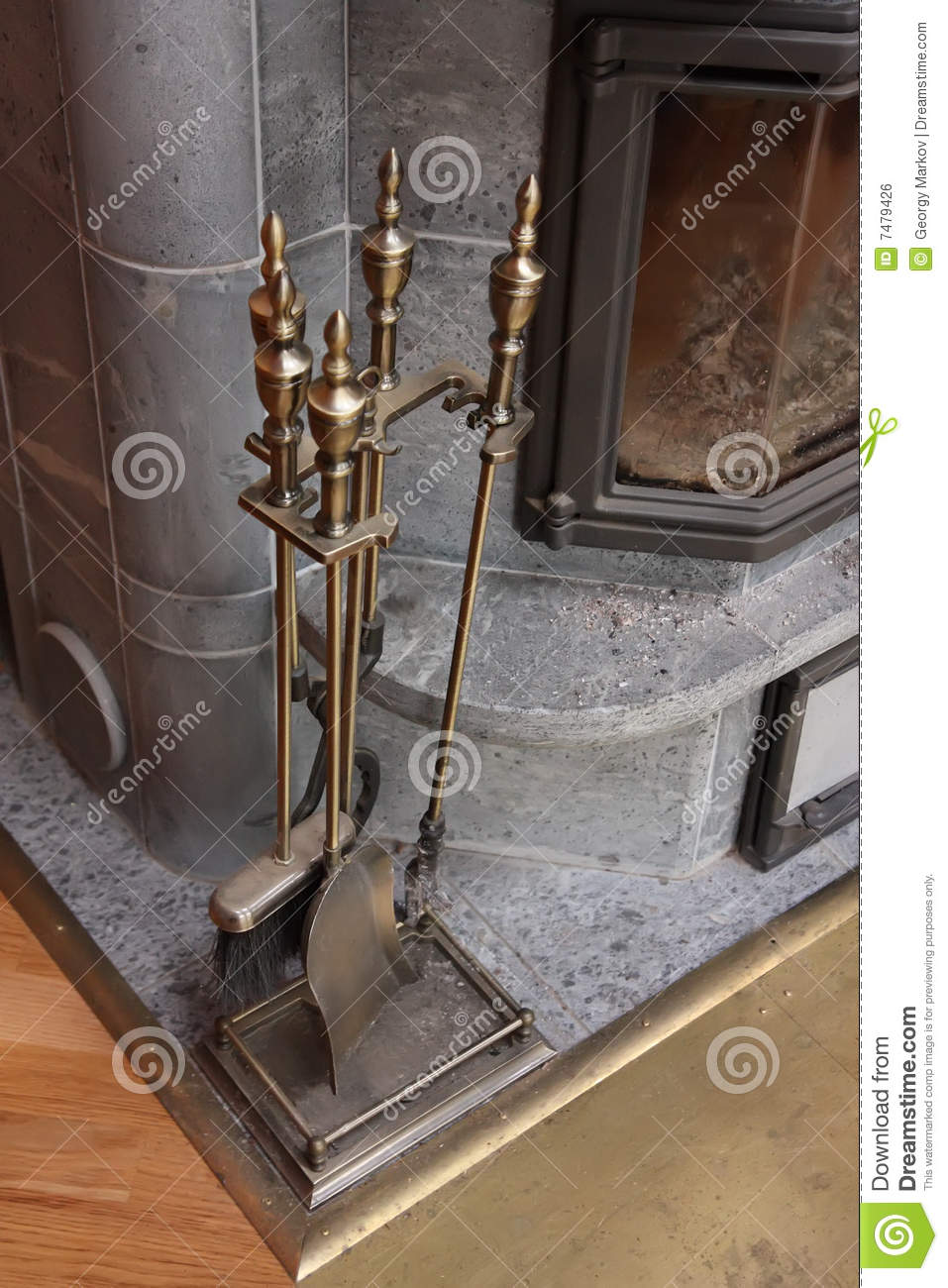 Fireplace Accessories Royalty Free Stock Image Image 7479426