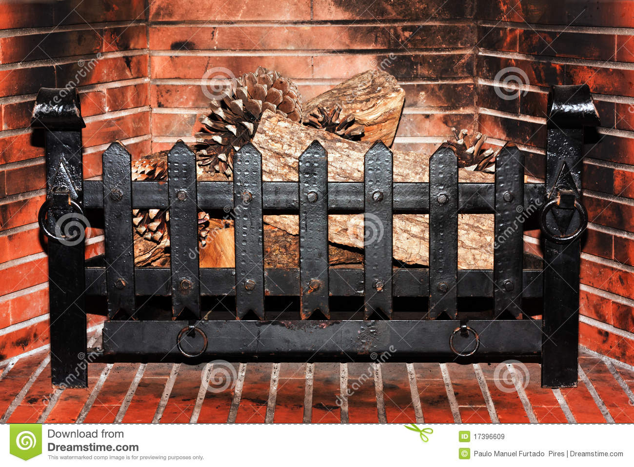 Fireplace with no fire royalty free stock images image Fireplace ideas no fire