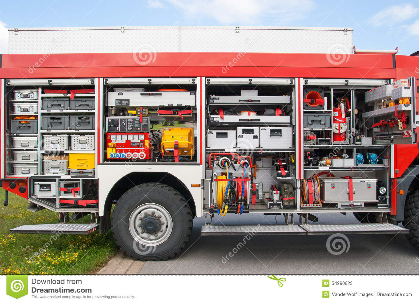 Firetruckutrustning