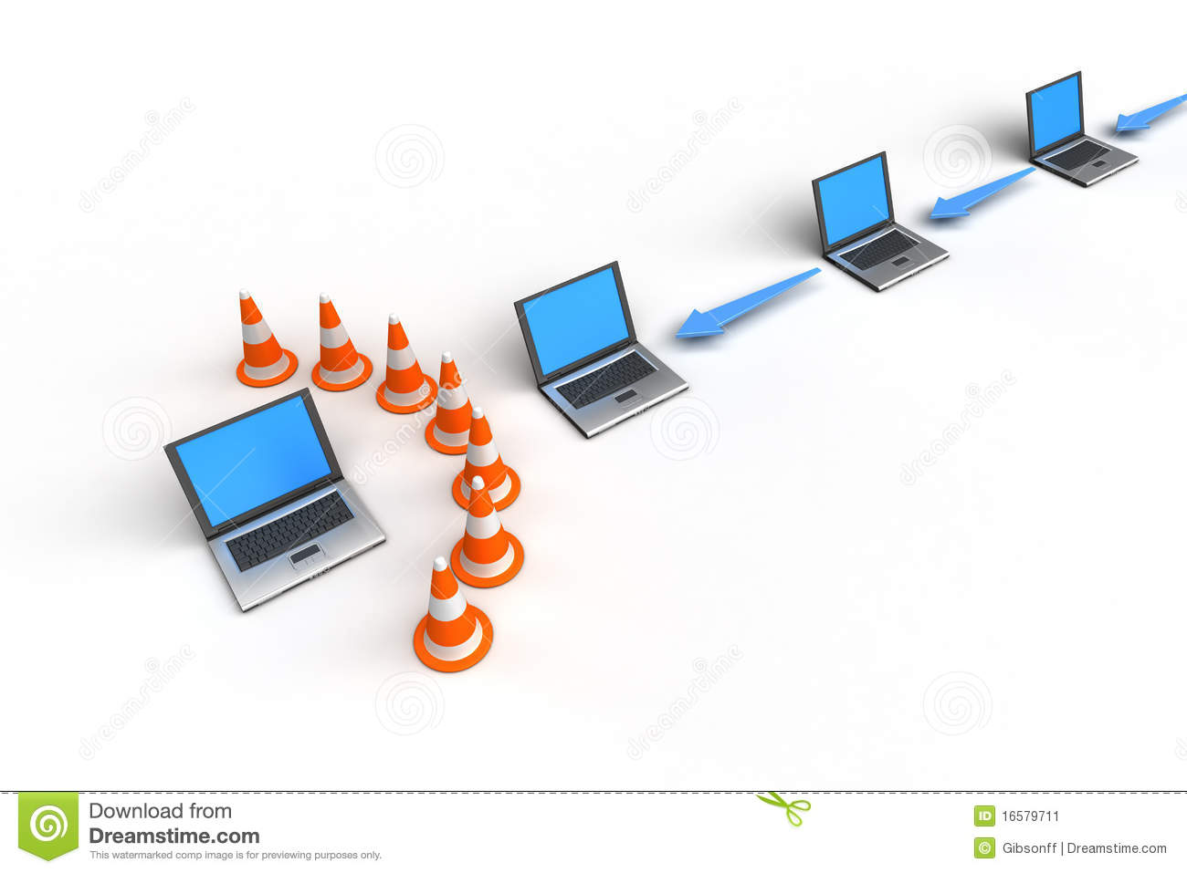 Firewall Protection Stock Photography - Image: 12953192