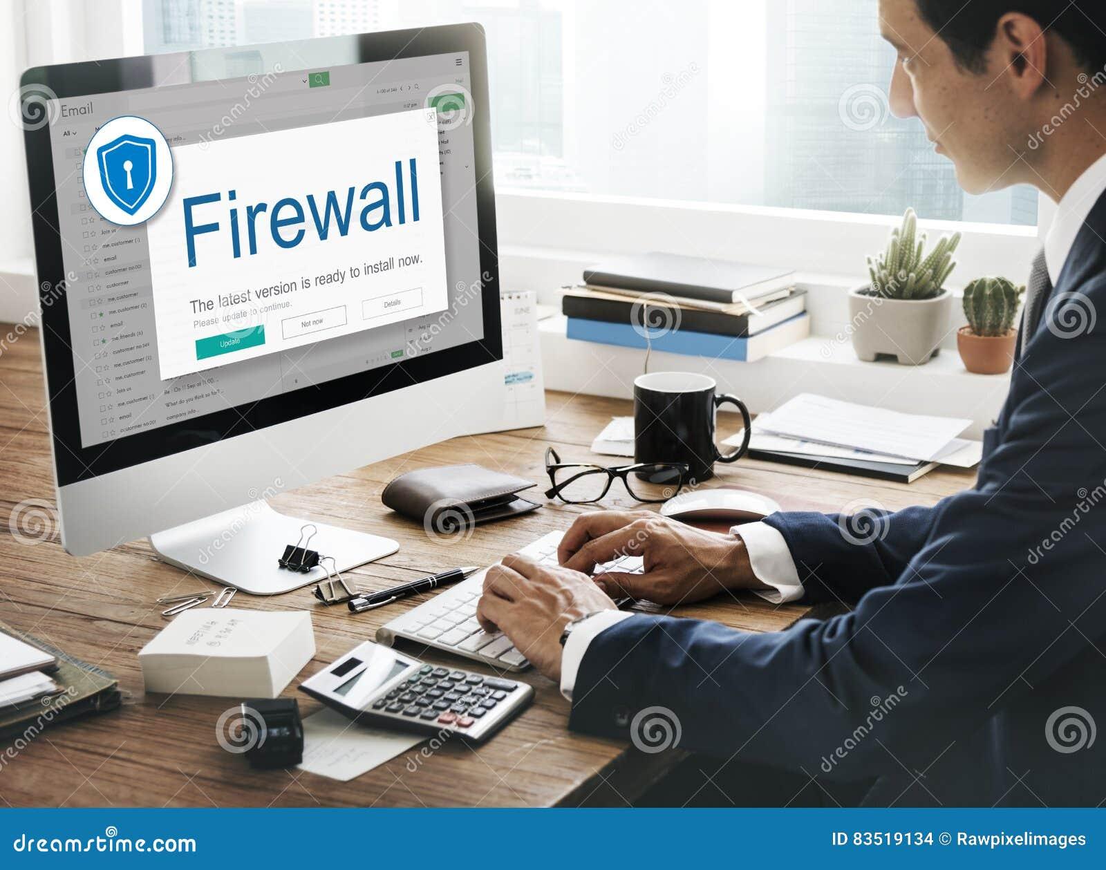 Firewallantivirus Waakzaam de Voorzichtigheidsconcept van de Beschermingsveiligheid