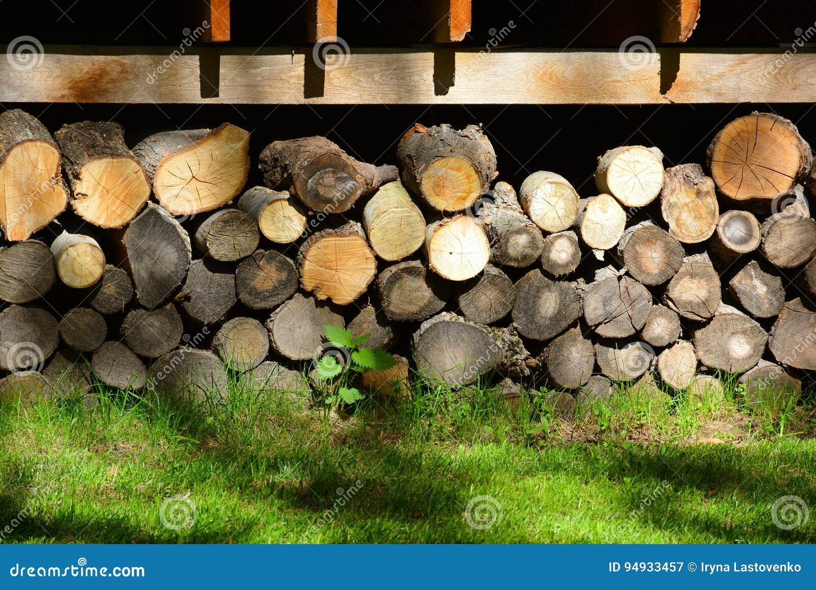Firewood Armazene a lenha