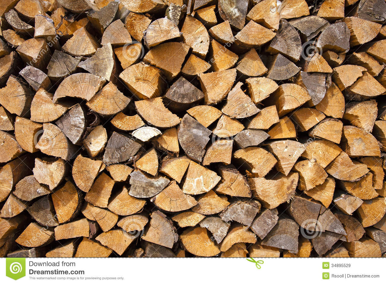 Firewood Royalty Free Stock Images Image 34895529