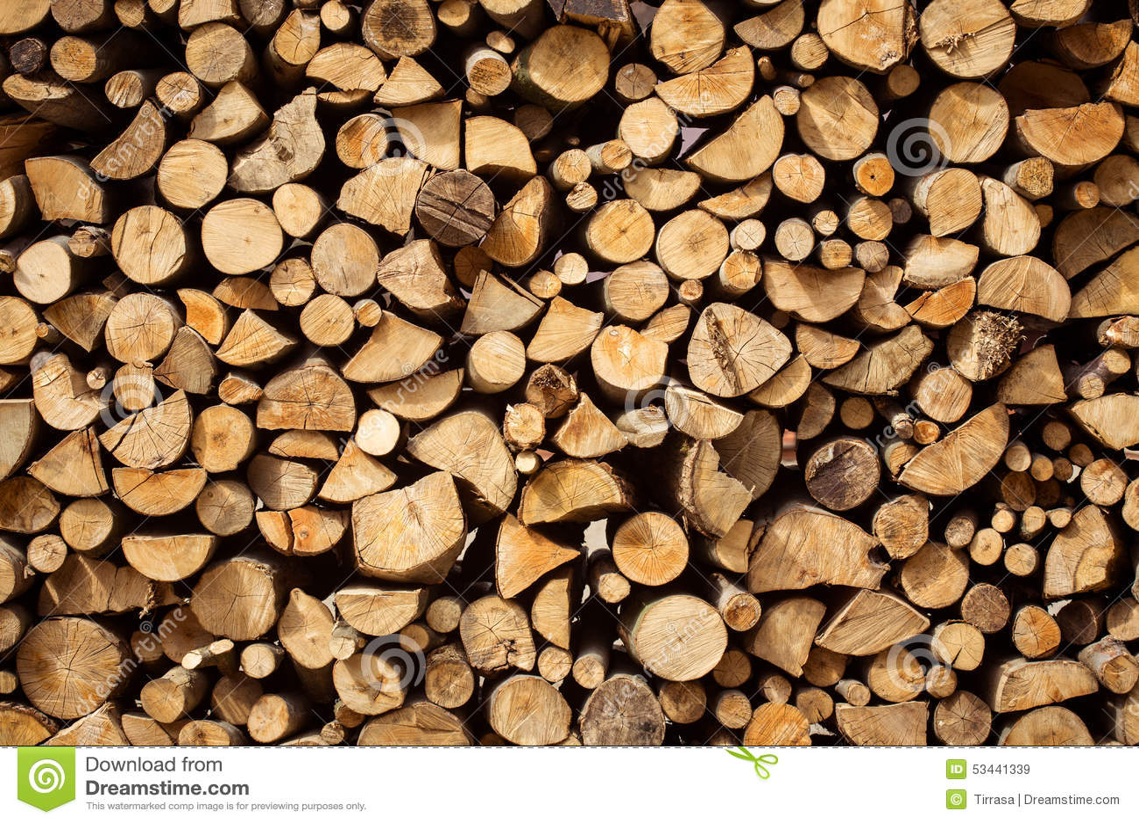 Firewood Stock Photo Image 53441339
