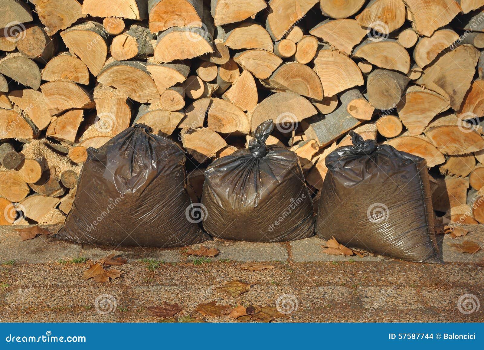 Firewood stock photo image