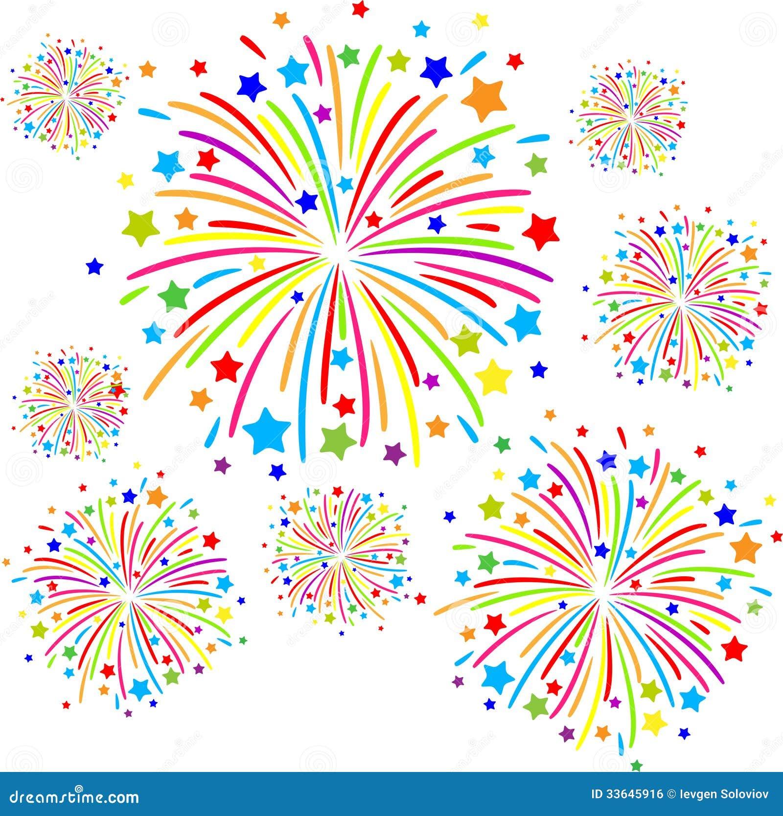 Firework Stock Vector Illustration Of Celebration Illuminated 33645916