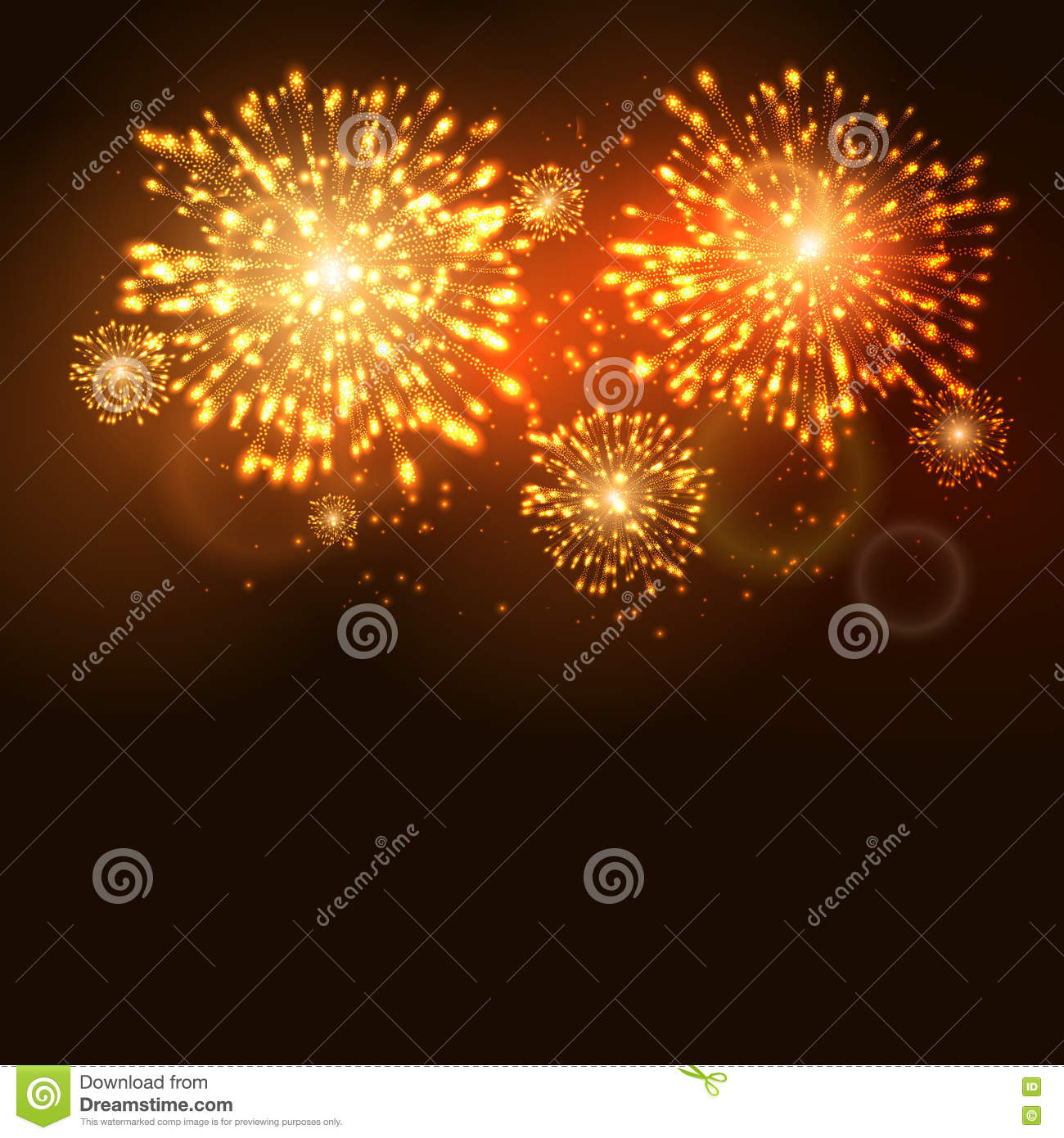 firework new year holiday celebration template vector firework flame carnival event background