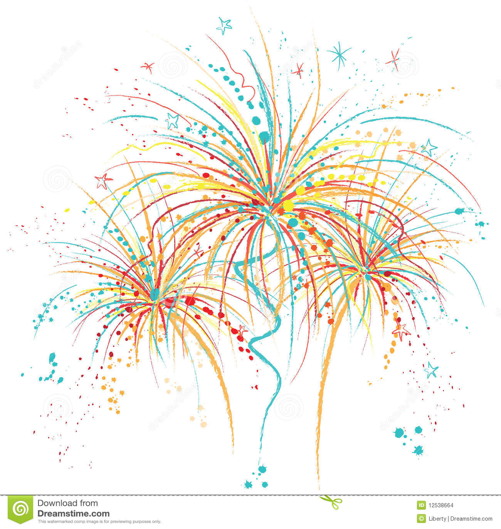 Fireworks Stock Images Image 12538664