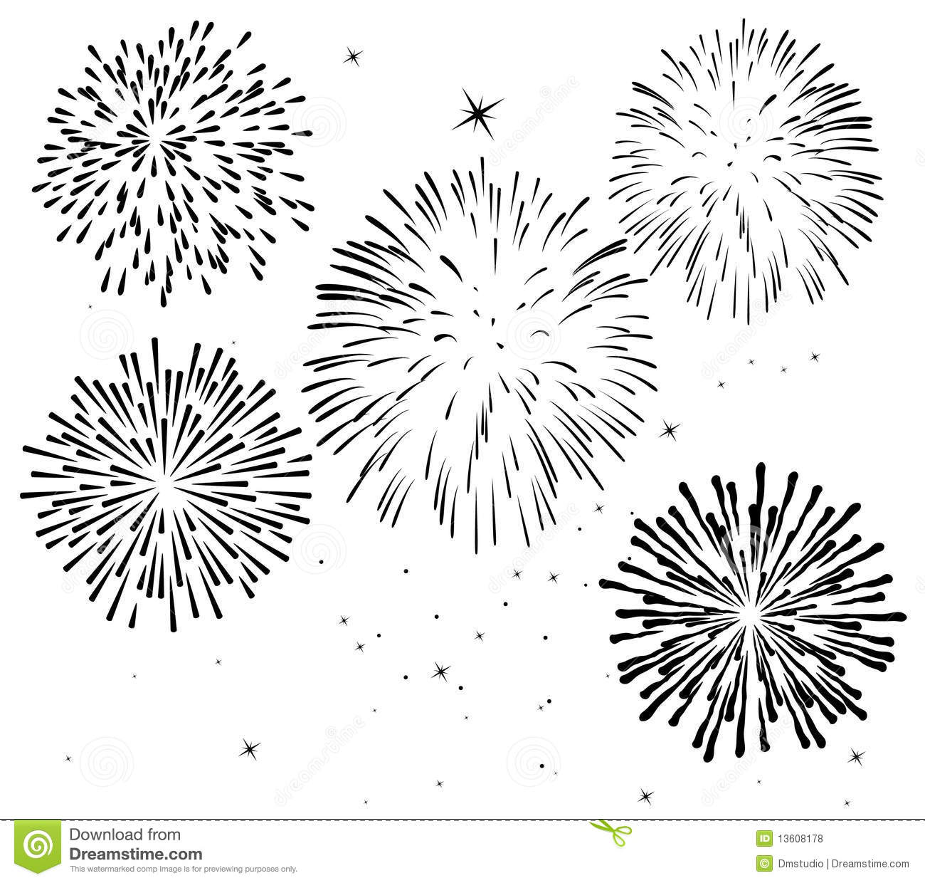 Fireworks Royalty Free Stock Photos Image 13608178
