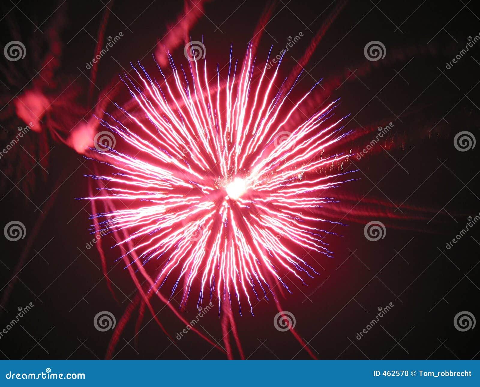 Download Fireworks stock photo. Image of smoke, green, night, great - 462570