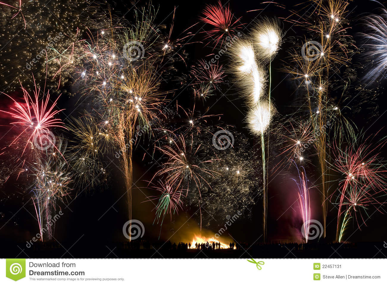 fireworks 5th november guy fawkes night stock image image of