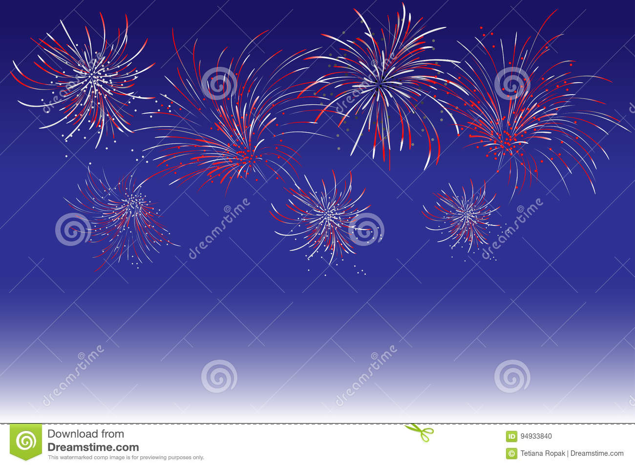 Rainbow Fireworks Celebration Colorful Abstract Image With: Fireworks Cartoons, Illustrations & Vector Stock Images