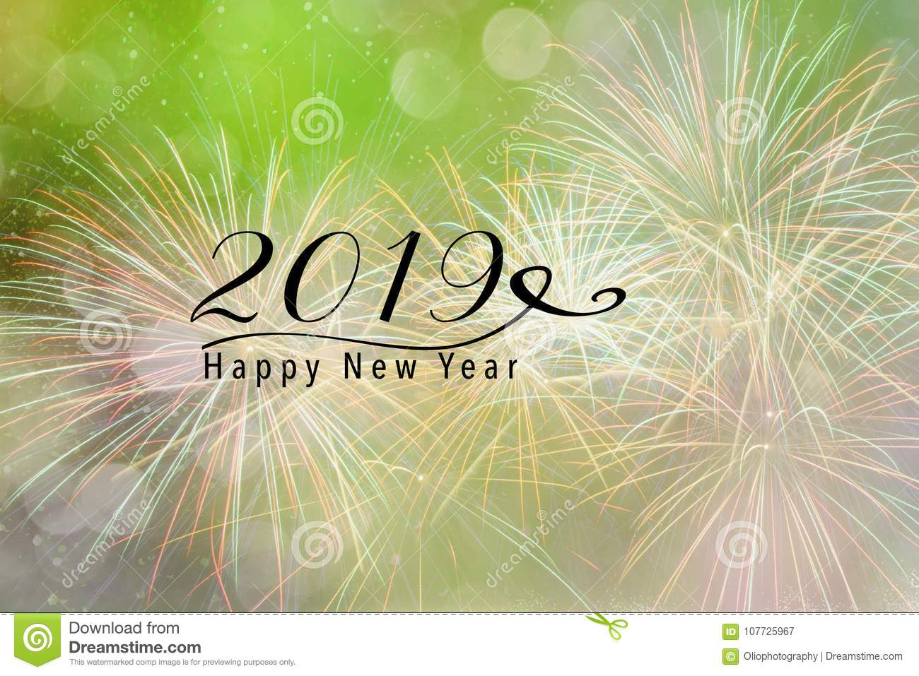 new year background for social media stock illustration
