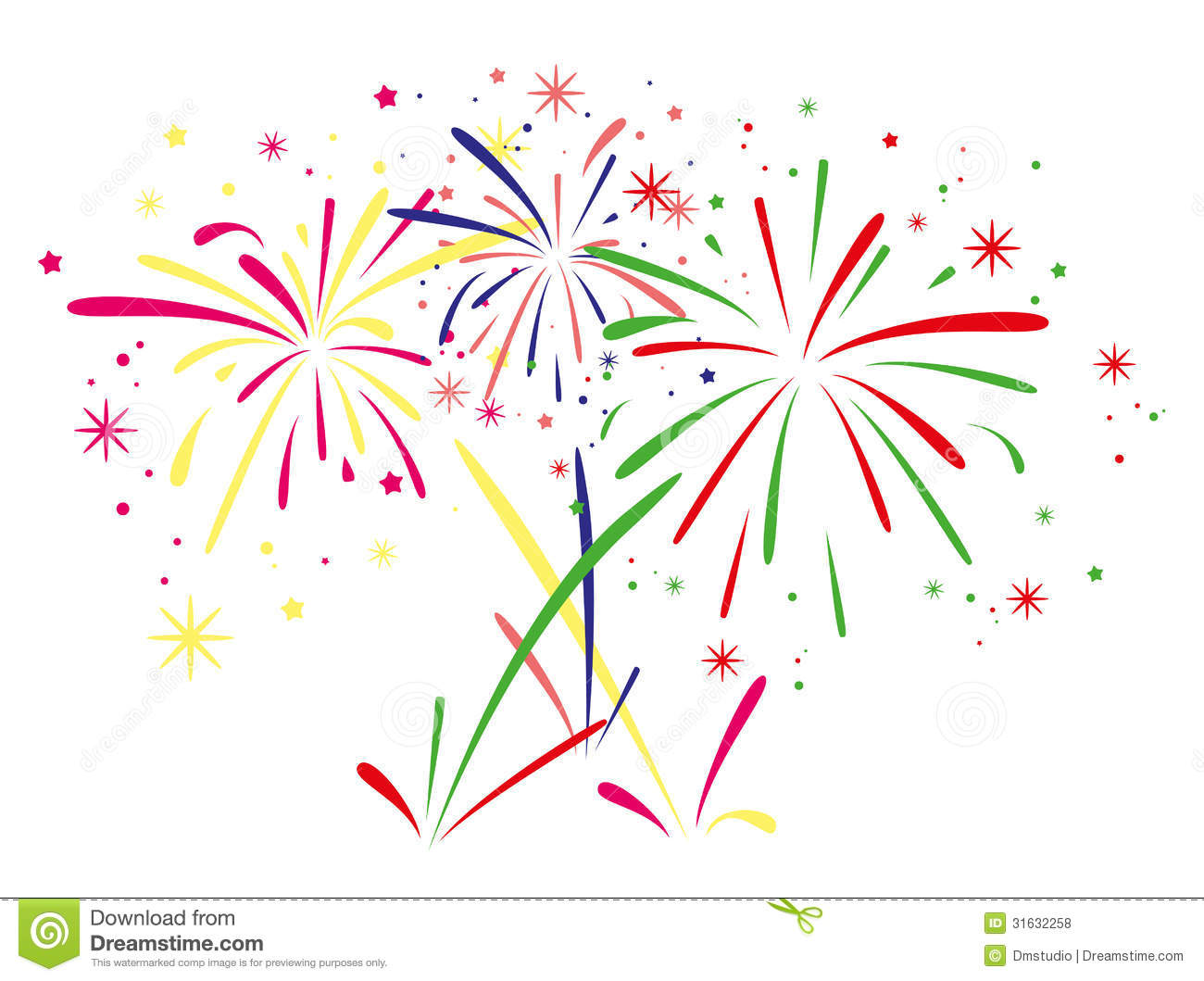 Vector Fireworks Background Royalty Free Stock Photos - Image ...