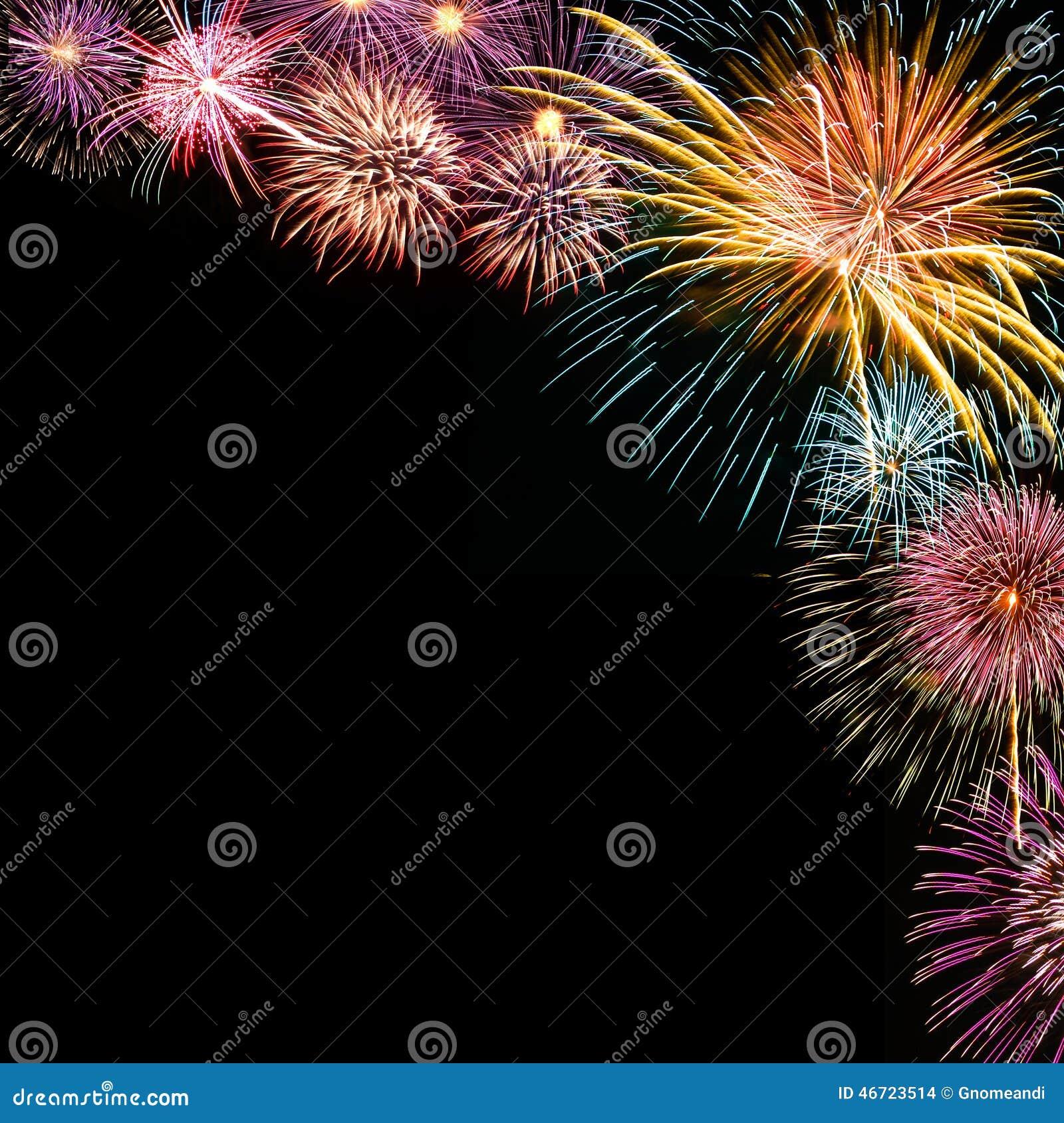 Fireworks Background Stock Photo Image Of Entertainment