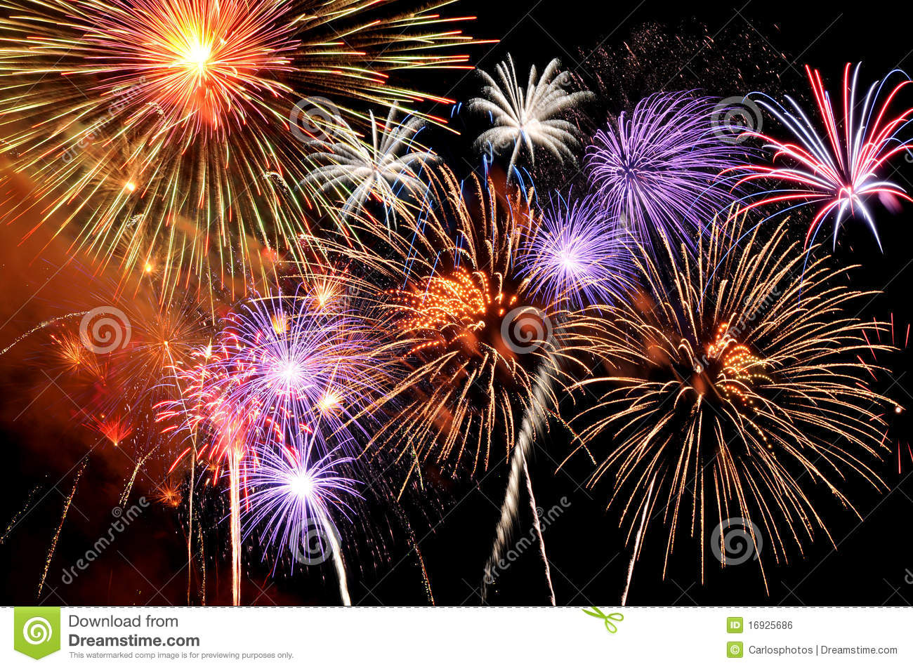 fireworks bursting stock photo image of firework abstract 16925686
