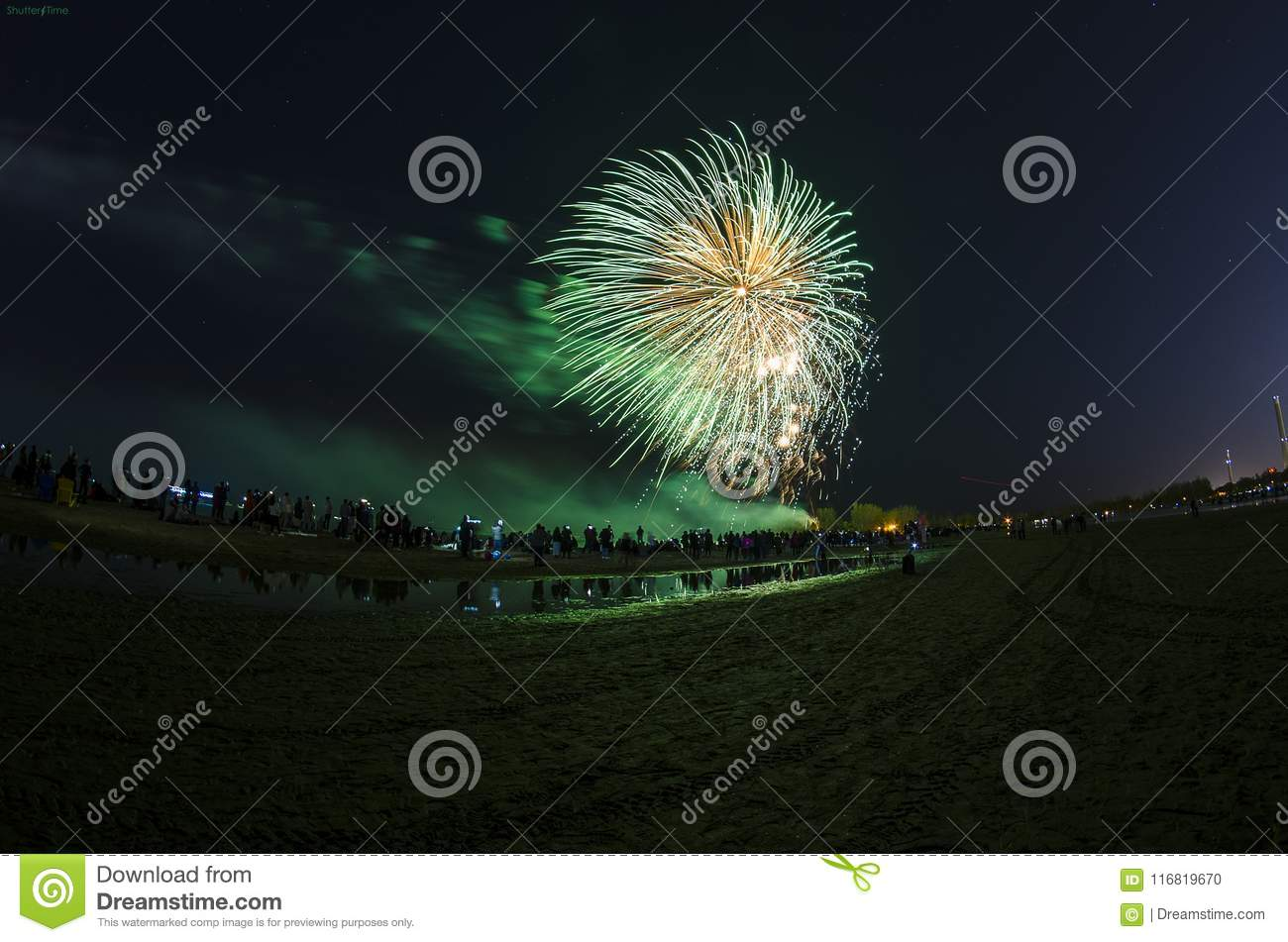 Fireworks Canada wallpaper stock photo. Image of wallpaper