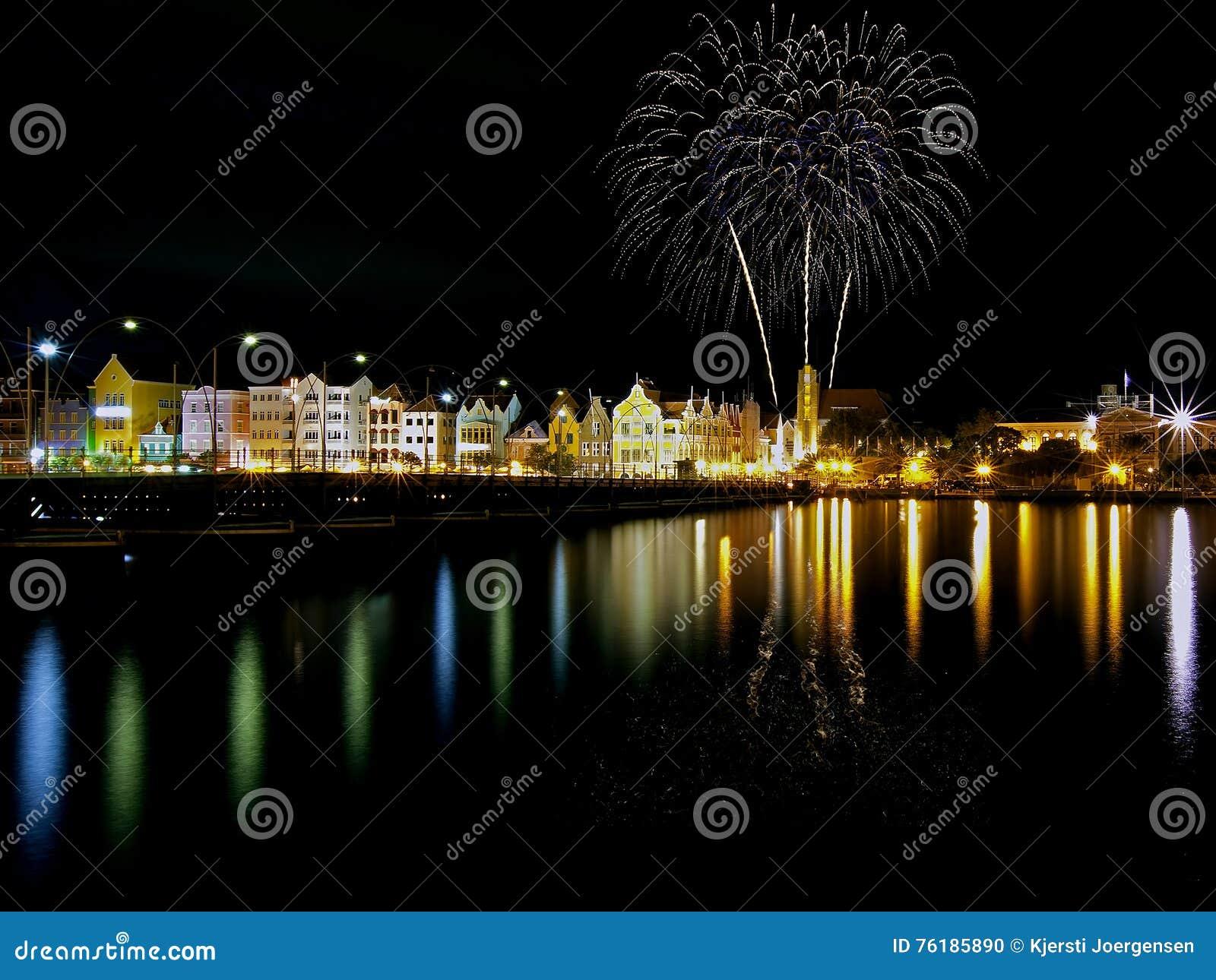 Fireworks on Curacao