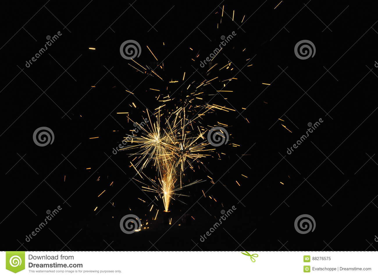 Download Fireworks On Guy Fawkes Night In New Zealand Stock Image - Image of festive, dark: 88276575