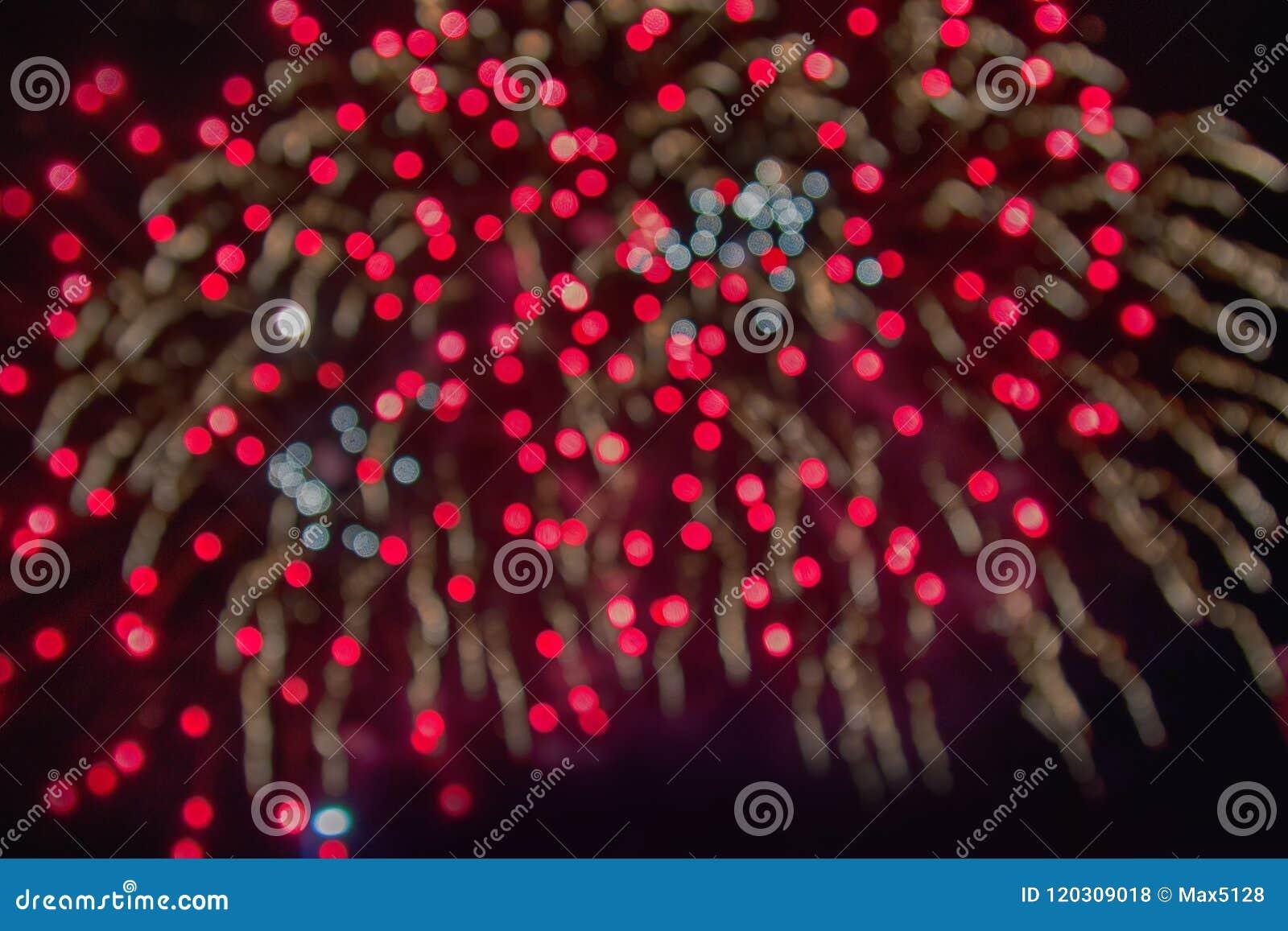 Fireworks Multi-colored Glare Stock Photo - Image of festive