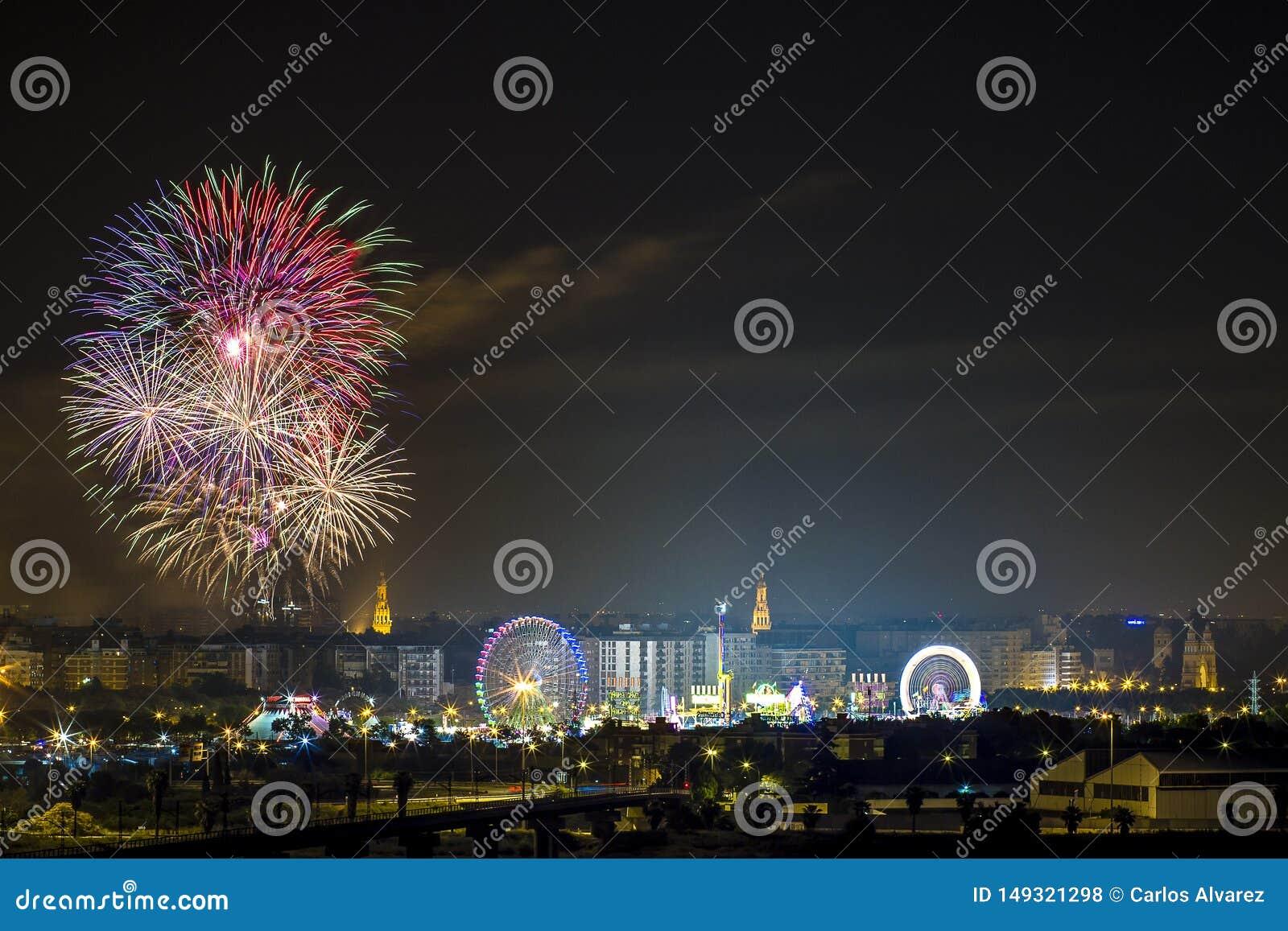 Fireworks parties