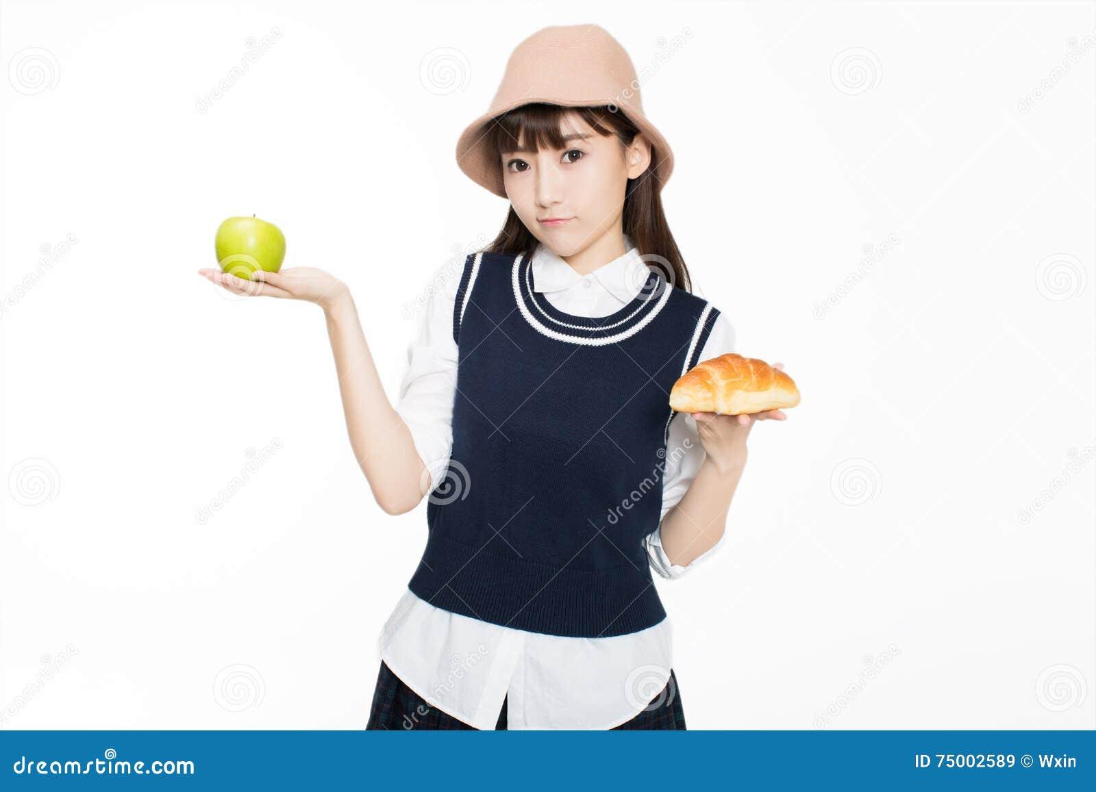 Firl en voedsel en fruit