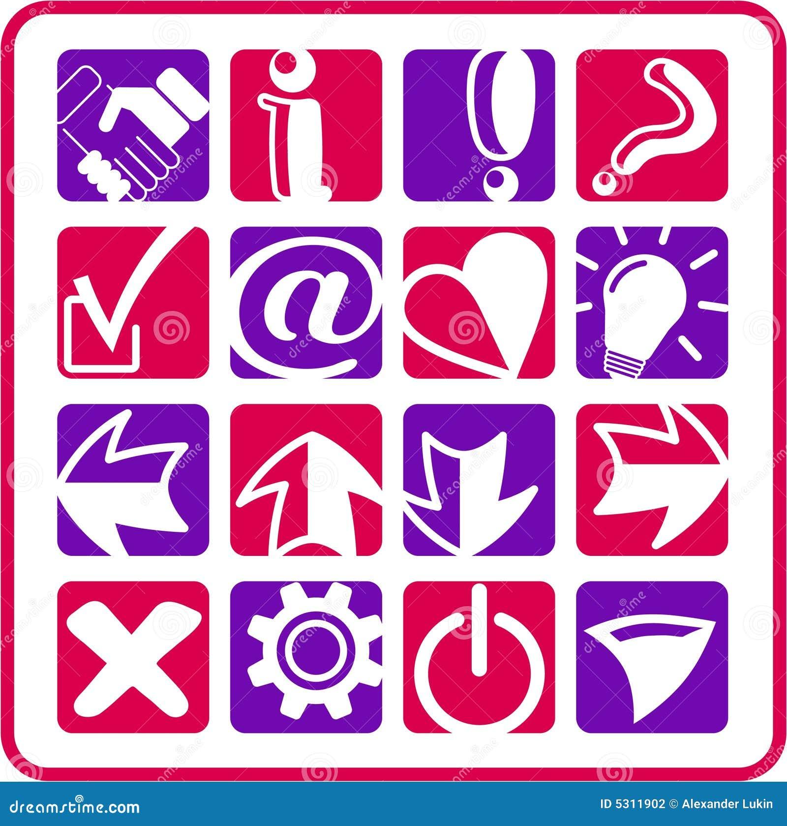 Download Firma le icone illustrazione vettoriale. Illustrazione di annullamento - 5311902