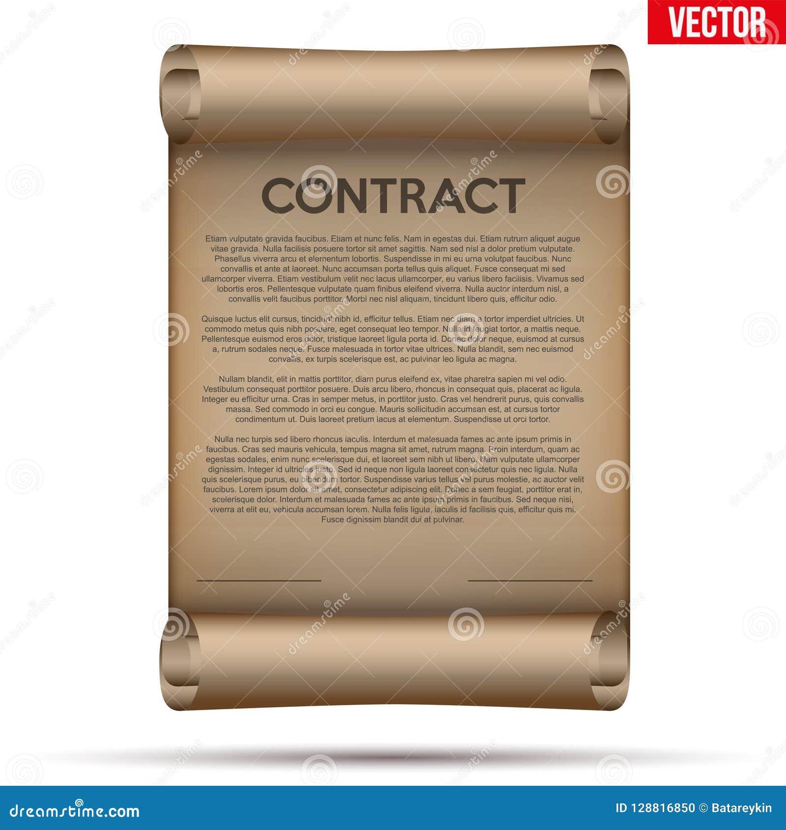 Firma legale del contratto