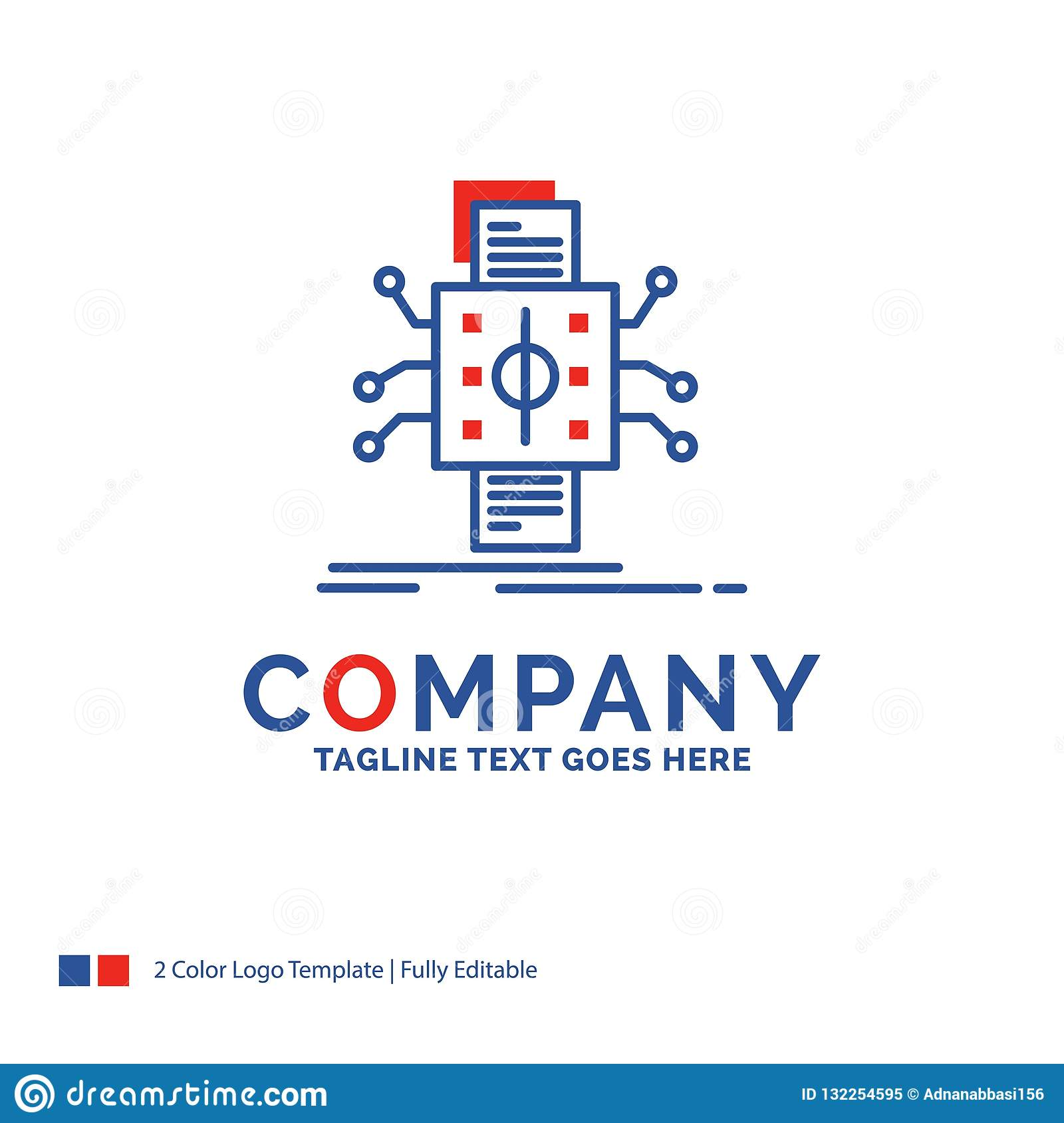 Firmanaam Logo Design For Analysis, gegevens, gegeven, verwerking