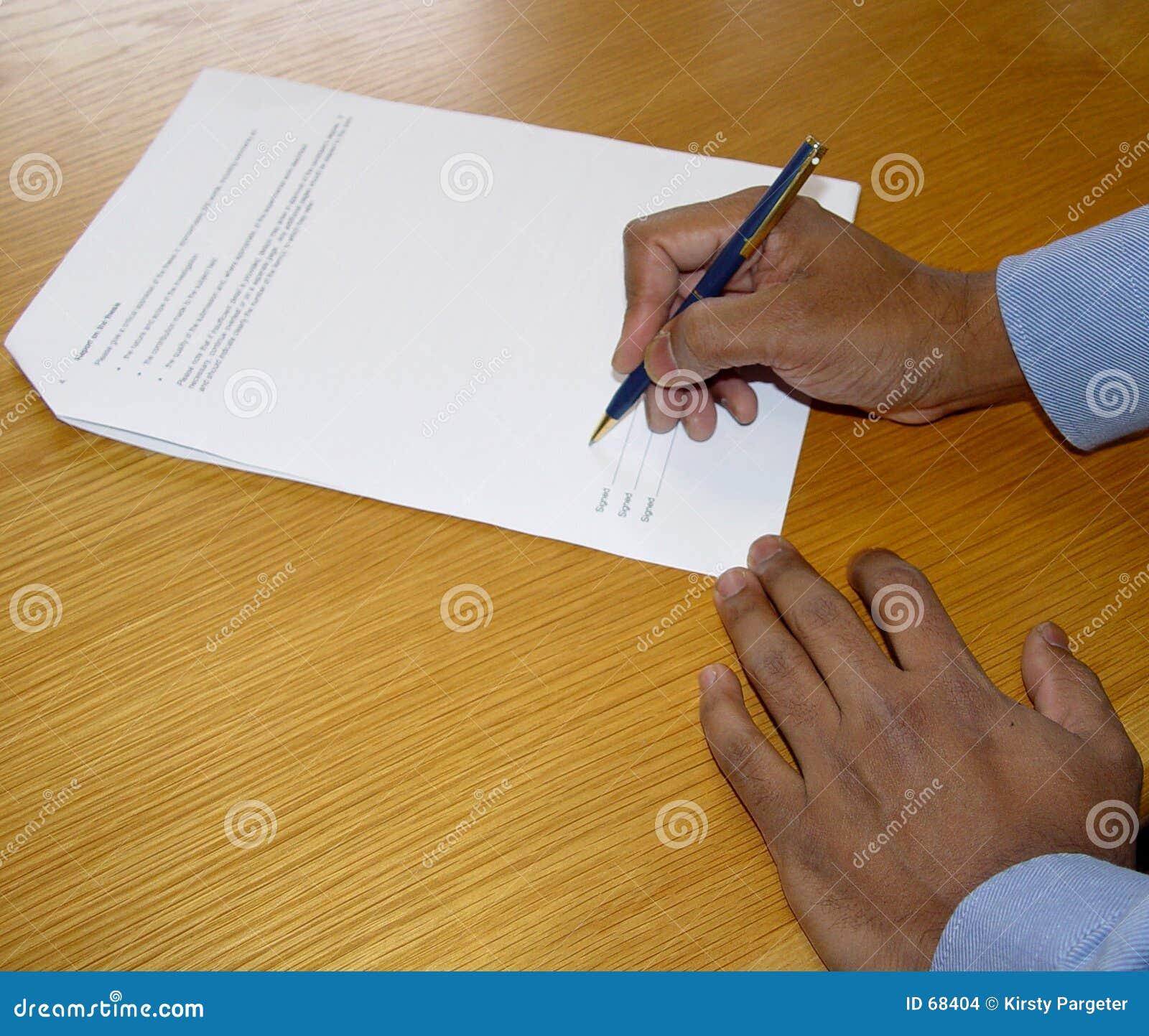 Firme el contrato
