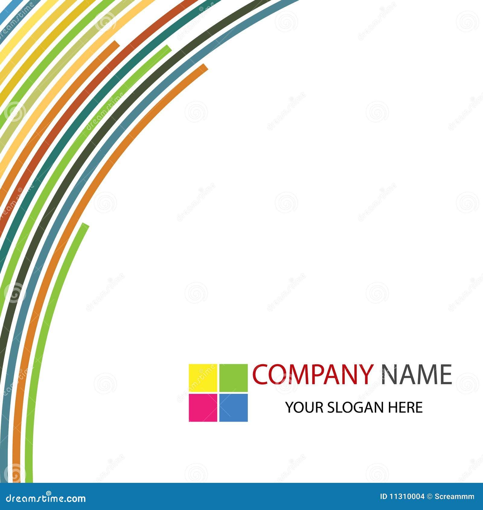 Firmenkundengeschäft-Schablonen-Hintergrund