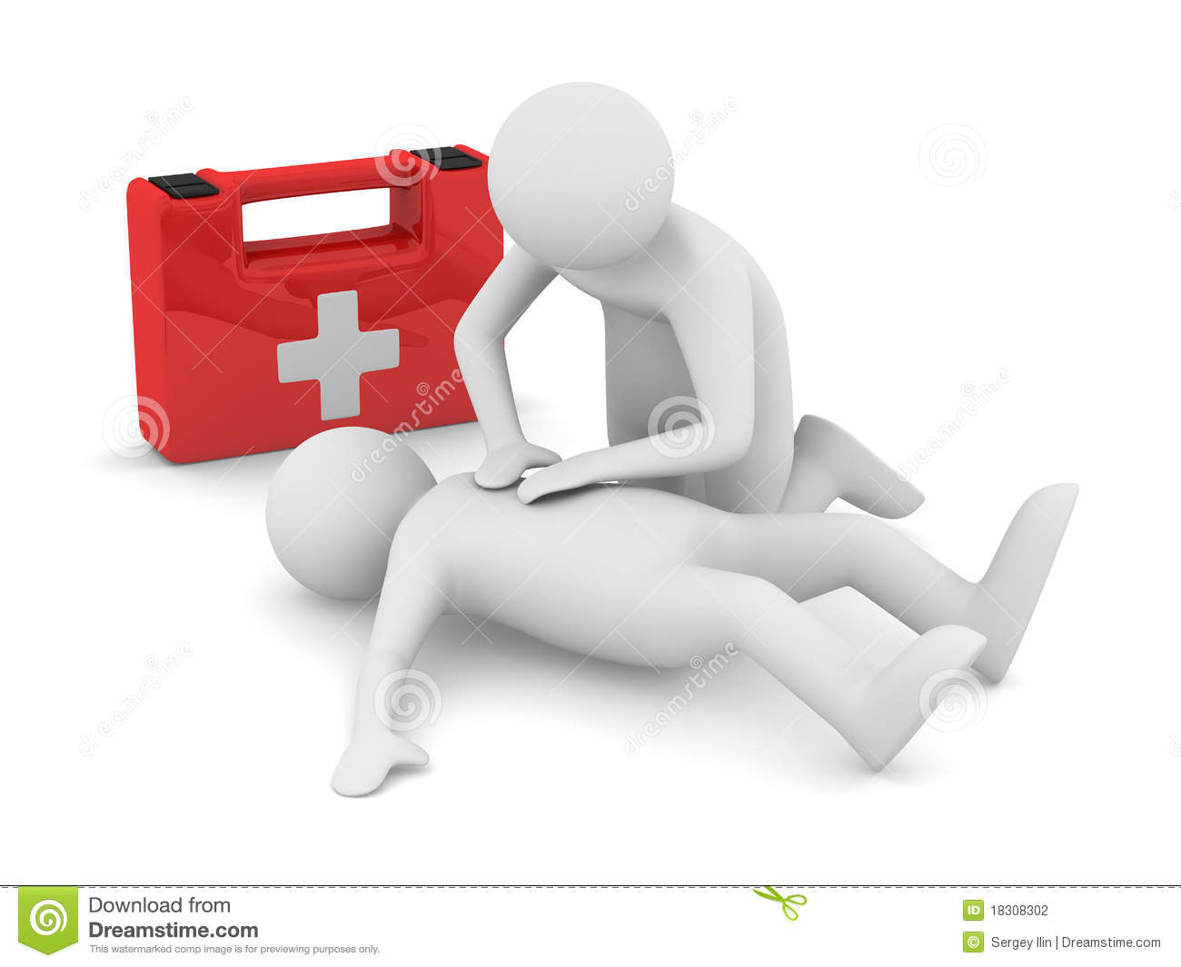 First Aid Artificial Breath Stock Photography Image