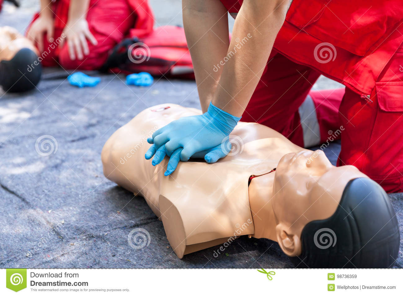 First aid. CPR.