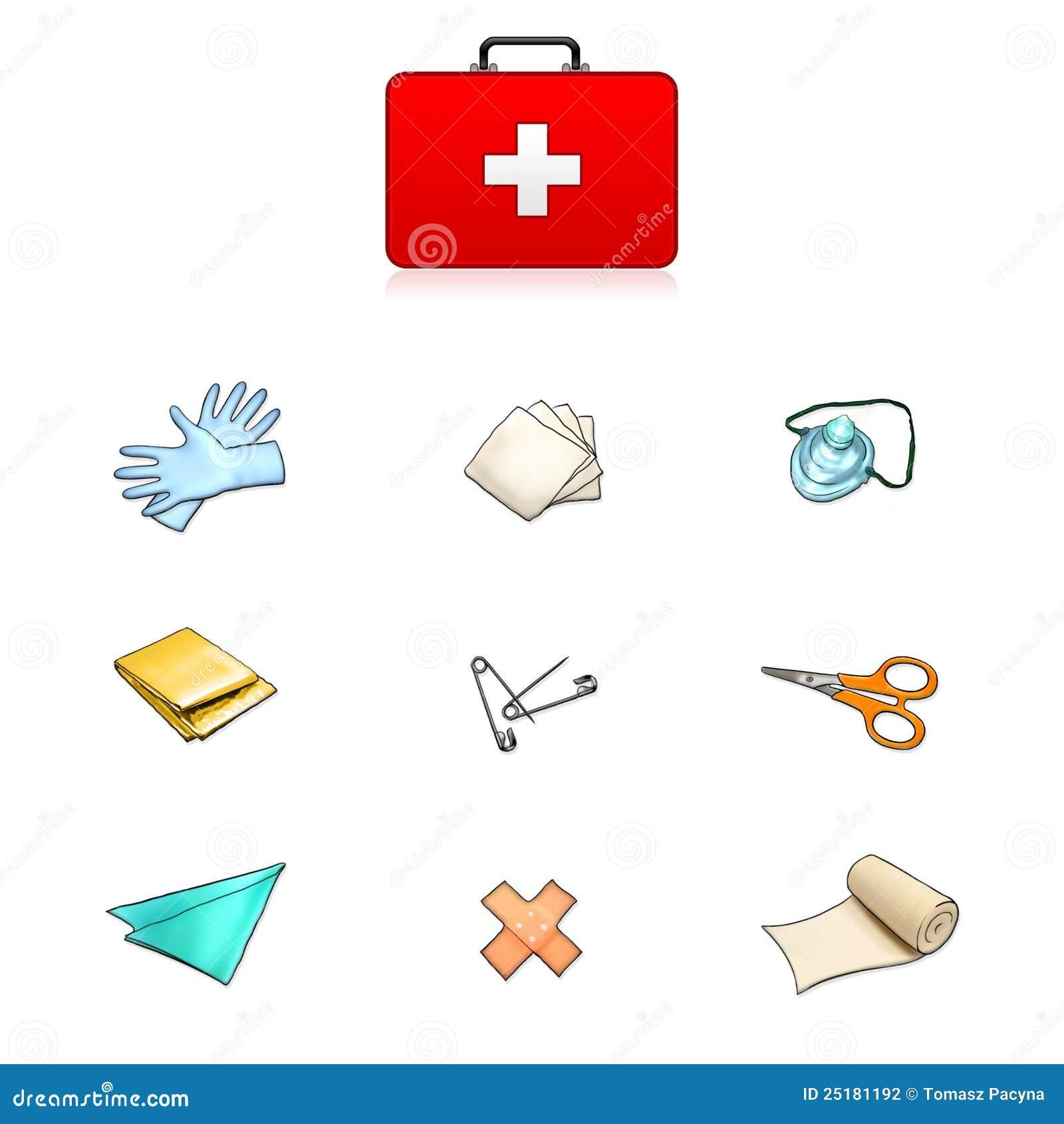 First Aid Kit Illustra...