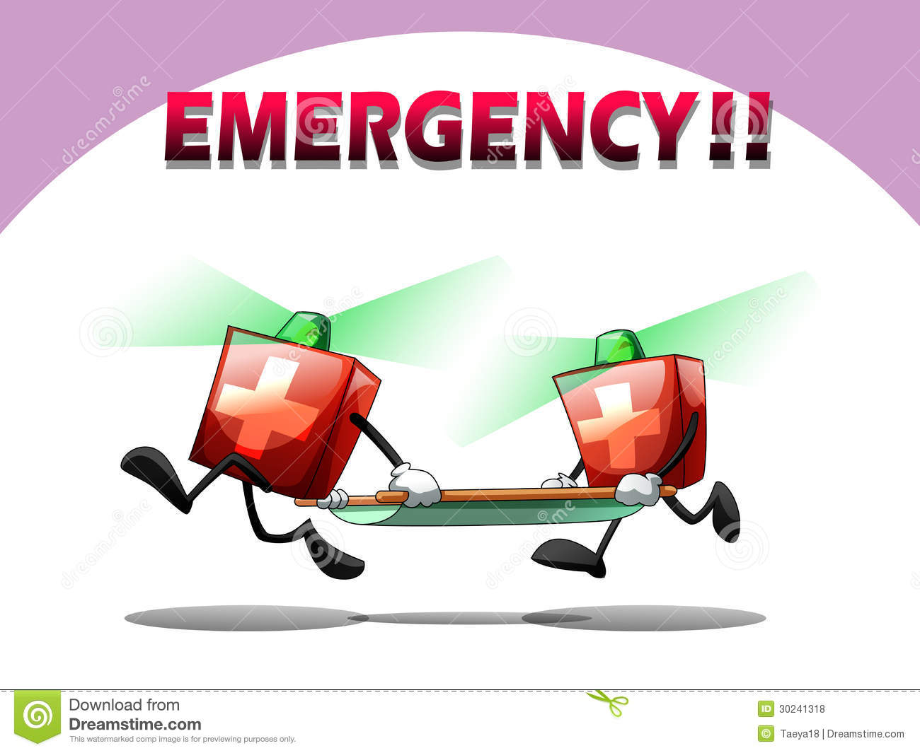 Emergency Rescue Royalty Free Stock Photos - Image: 30241318