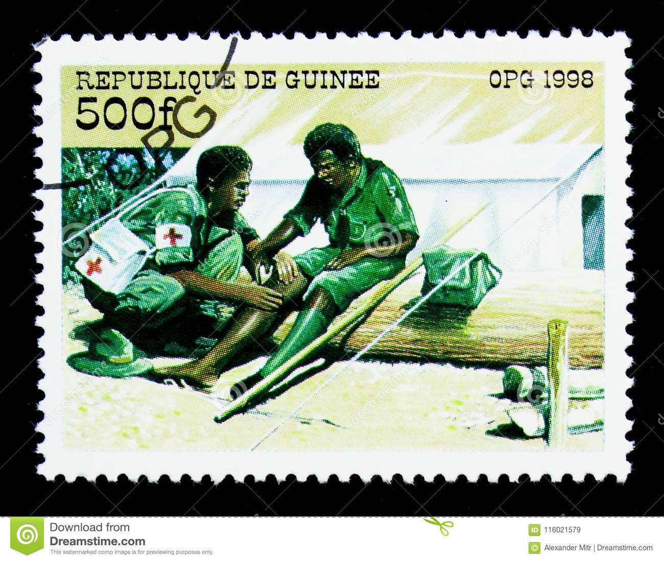 First Aid, The 90th Anniversary International Scout Organization