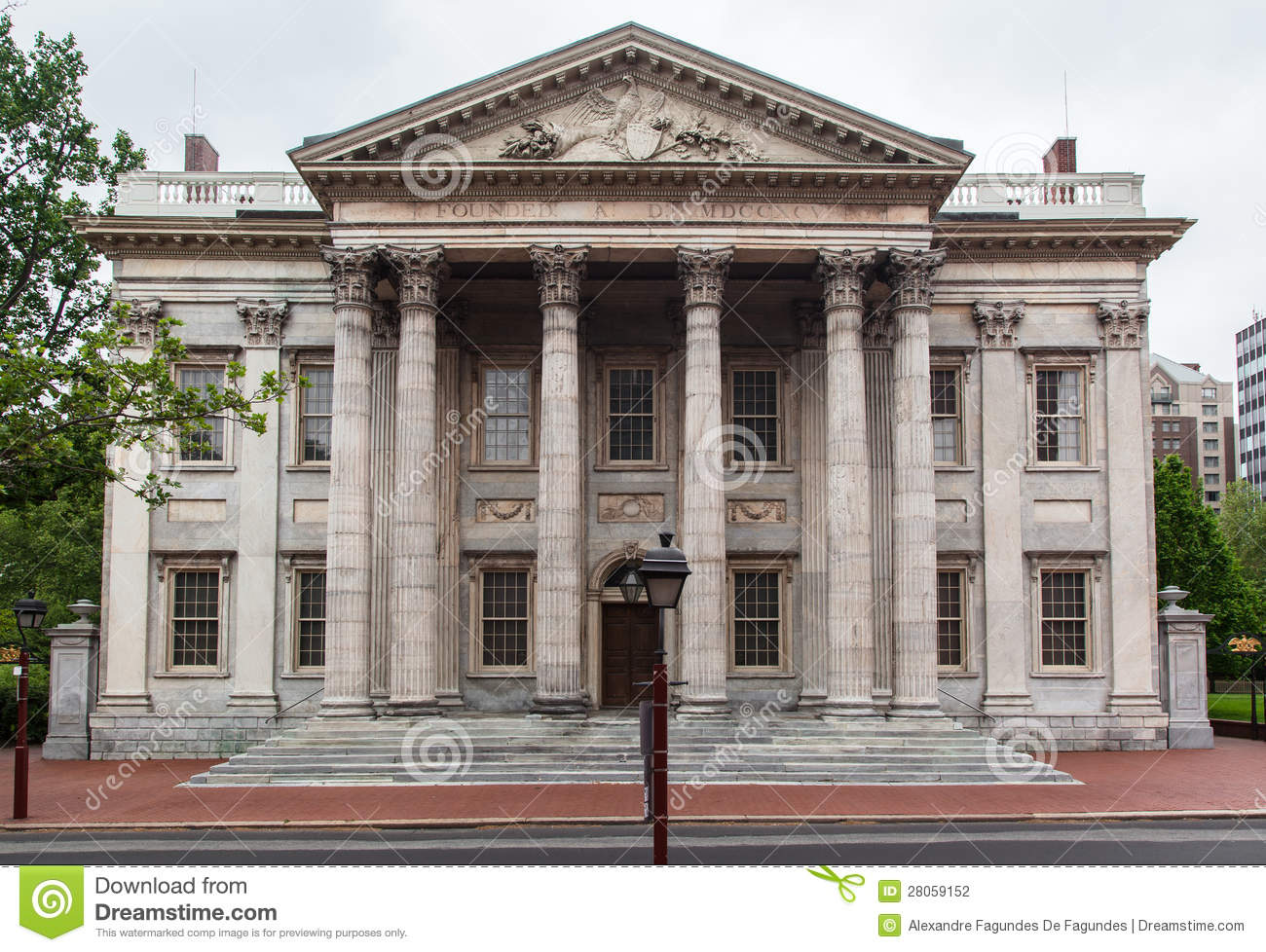 First Bank Of The United States Stock Photography - Image: 28059152