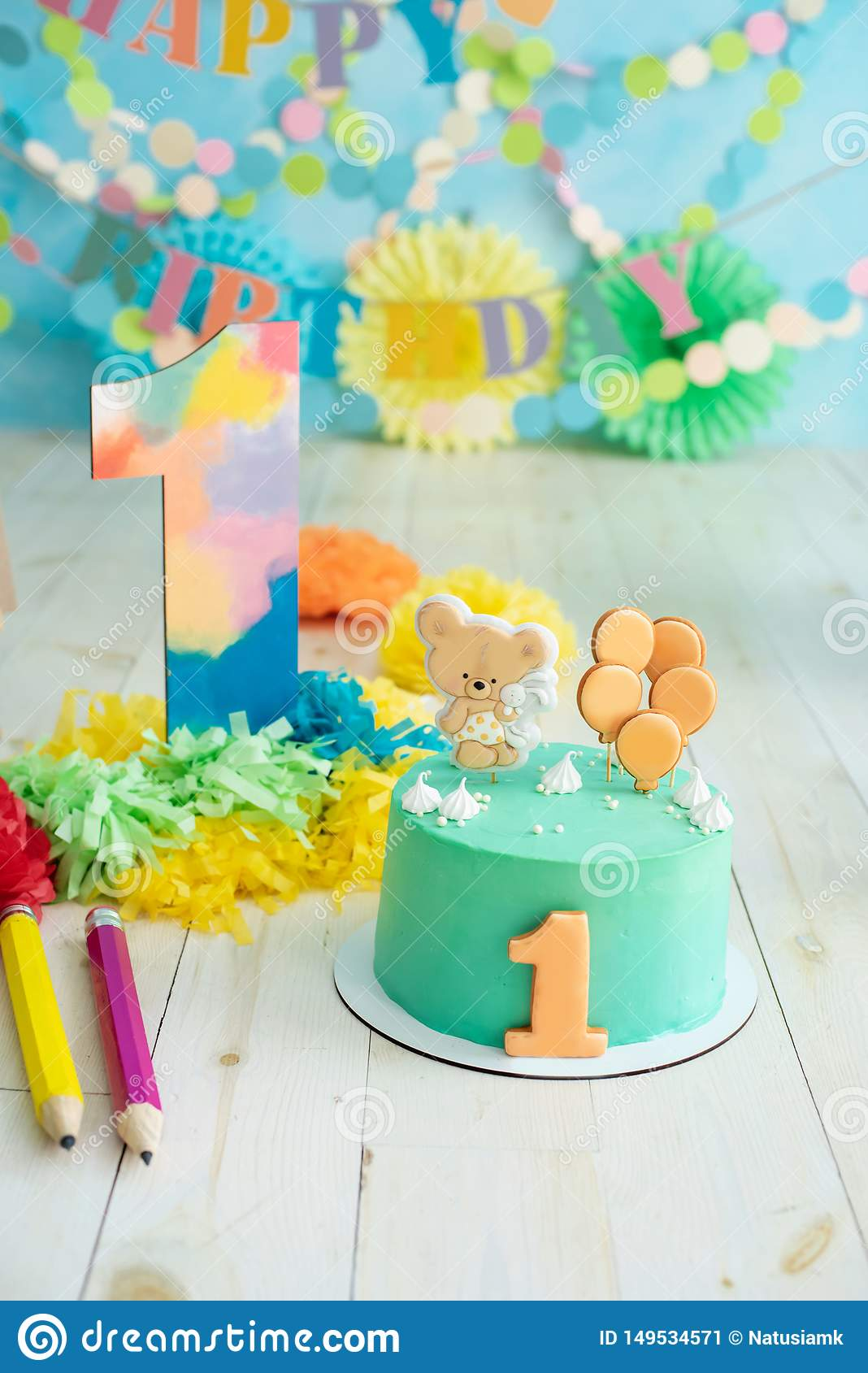 Prime First Birthday Smash The Cake Birthday Greetings Stock Image Funny Birthday Cards Online Inifofree Goldxyz