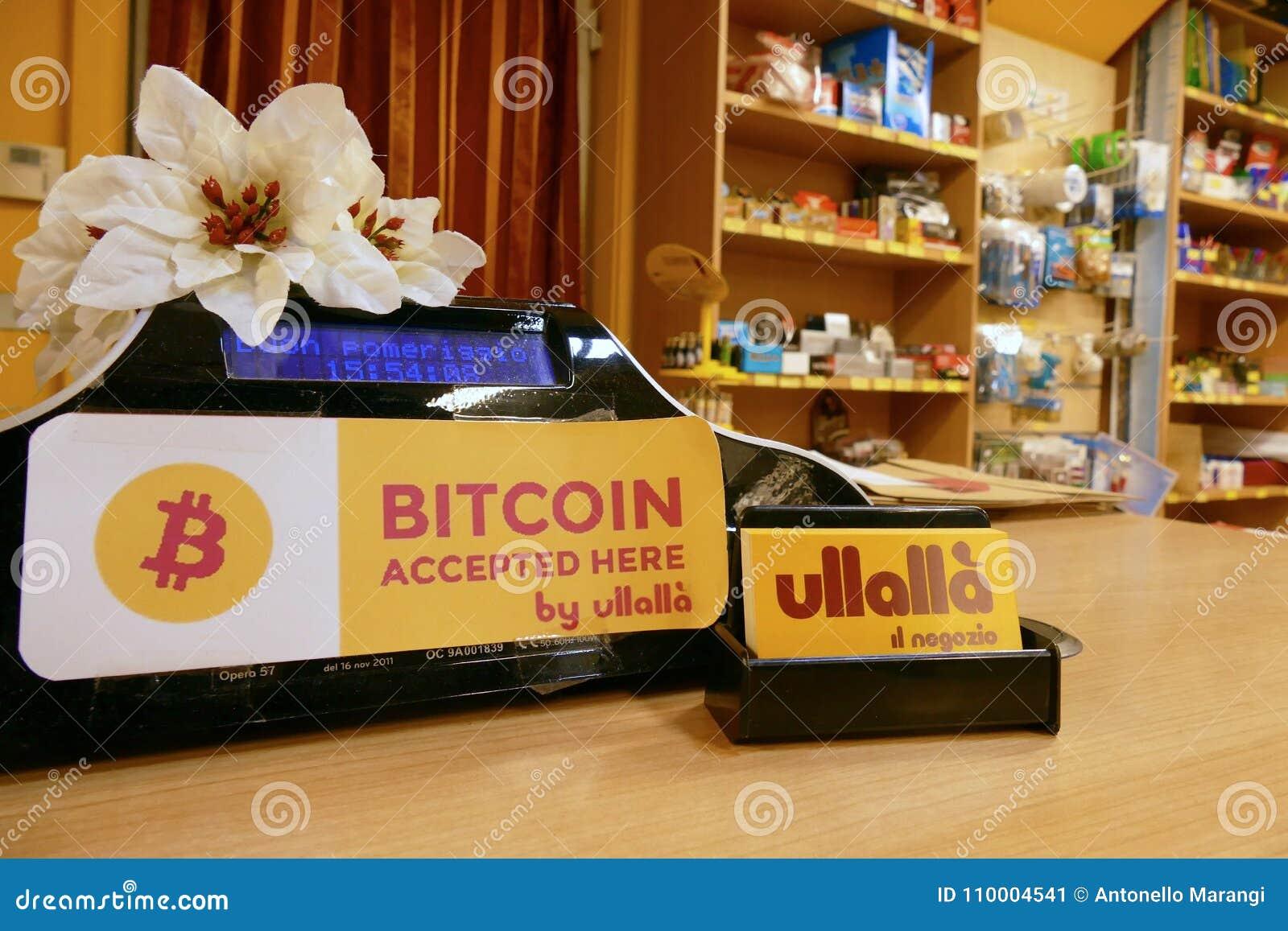negozio bitcoin