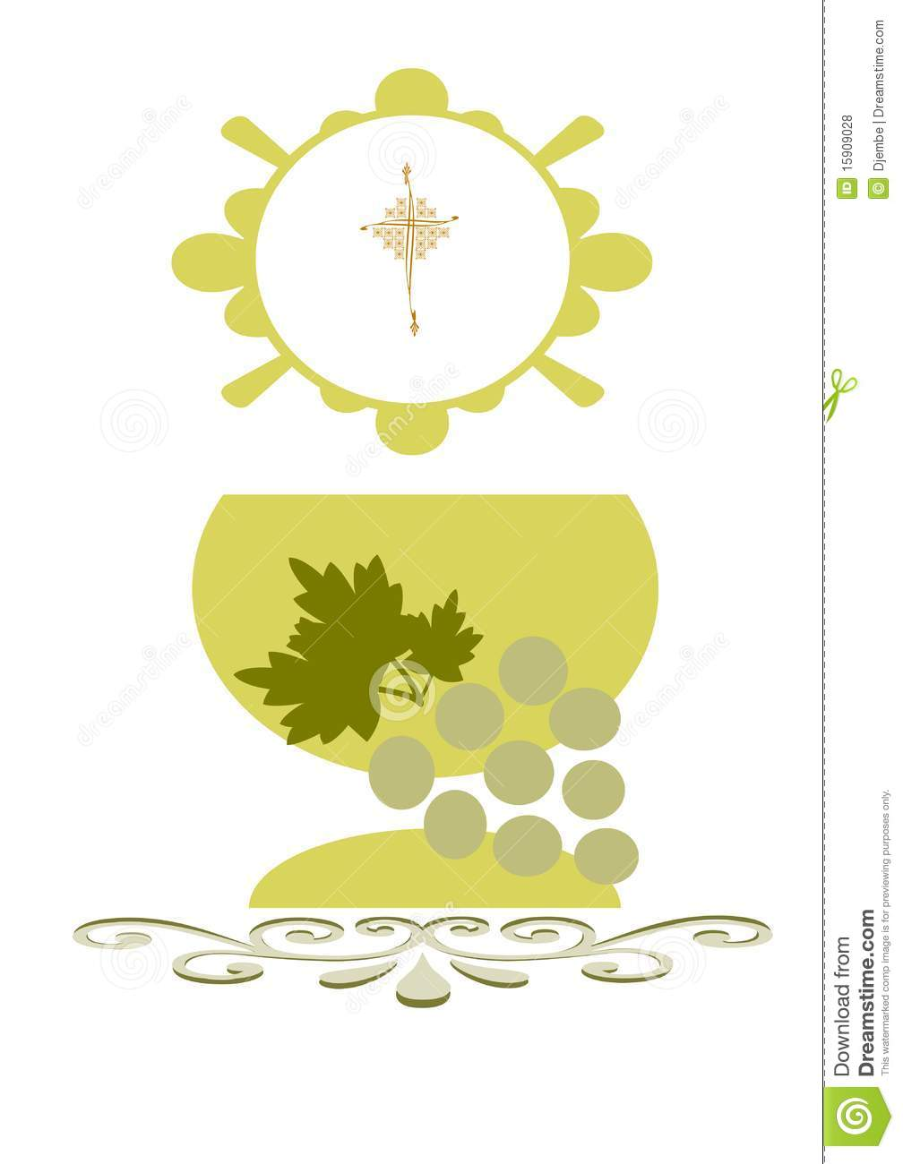 First Communion Royalty Free Stock Photos - Image: 15909028