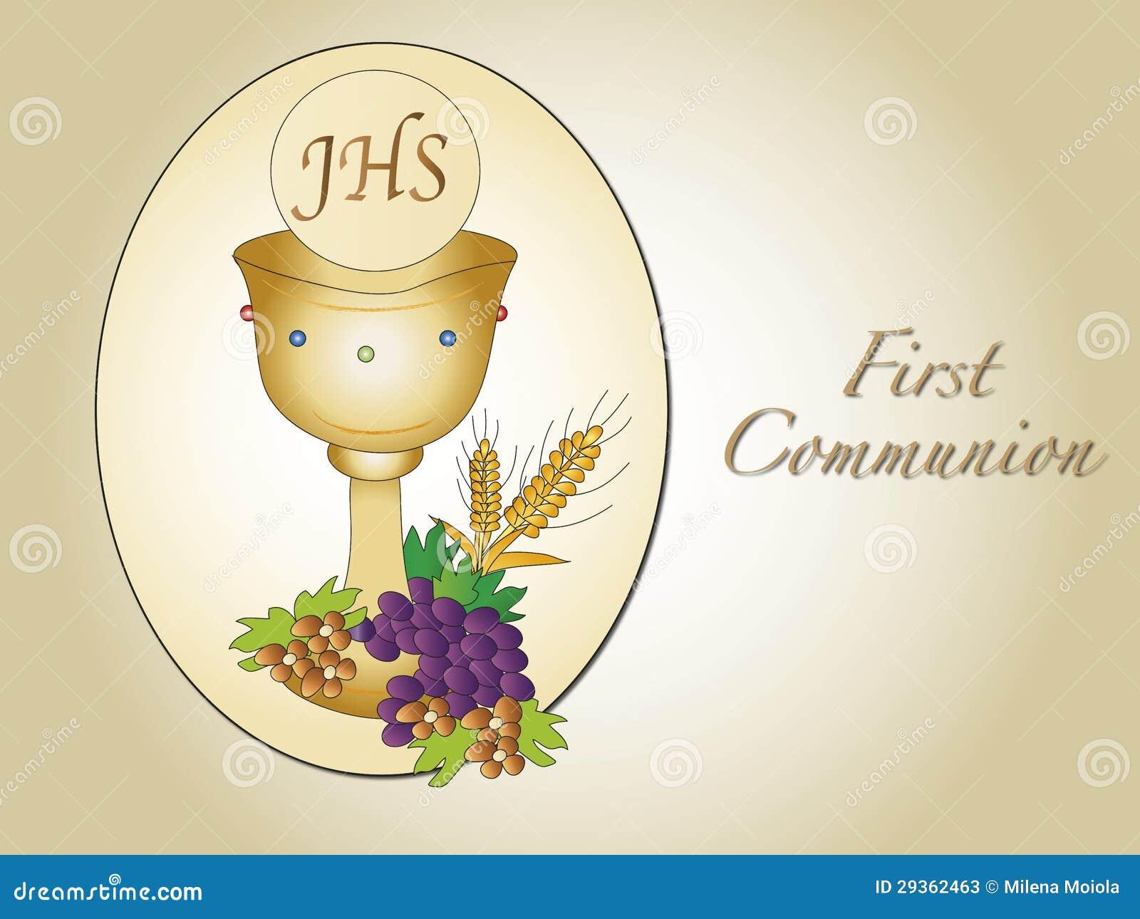 First communion stock illustration. Illustration of image ...