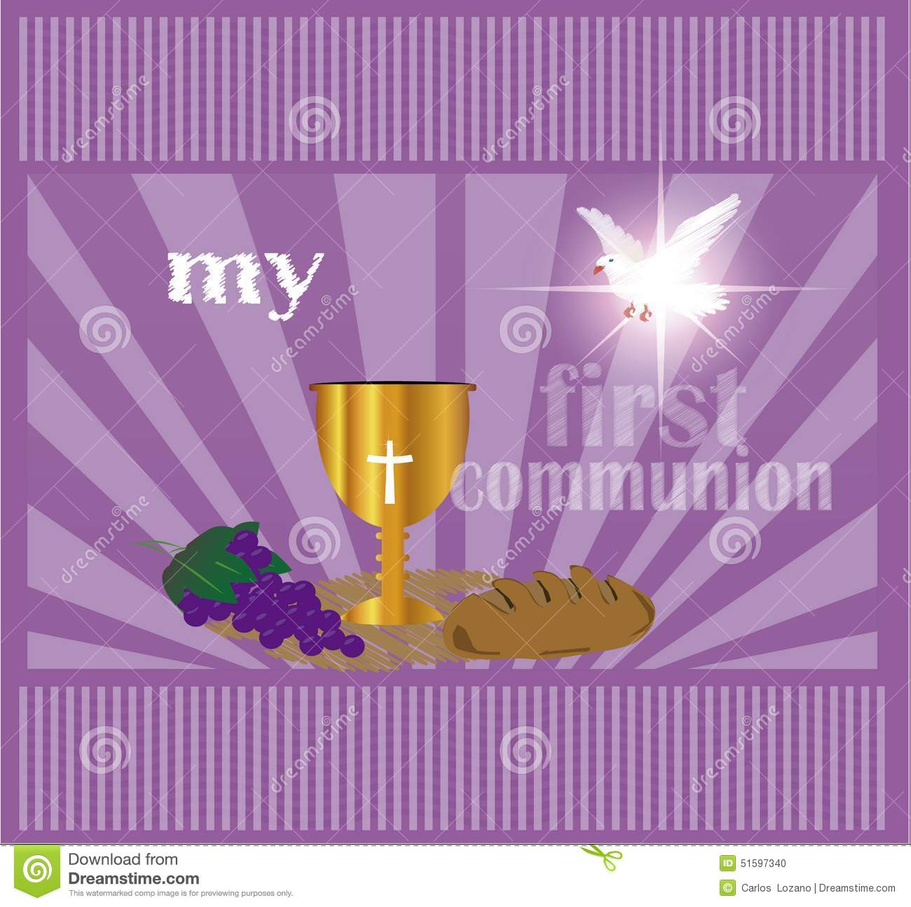 the first communion or first holy communion stock photo image of rh dreamstime com First Holy Communion Catholic First Communion Invitations