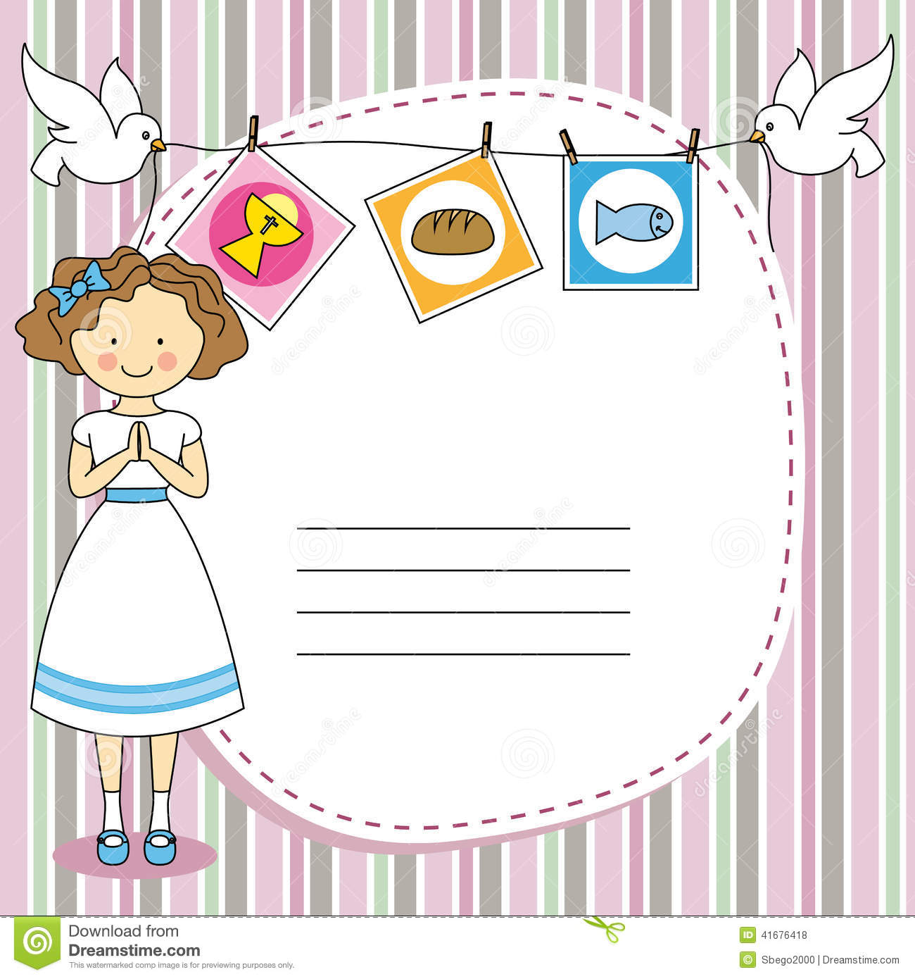First Holy Communion Invitations as perfect invitation layout