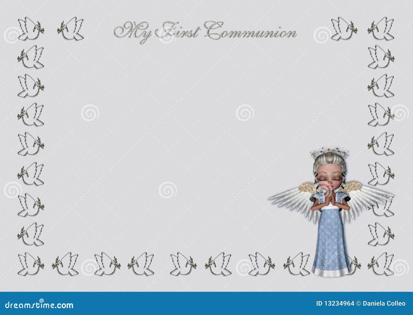Elegant First Communion Invitations for adorable invitations example